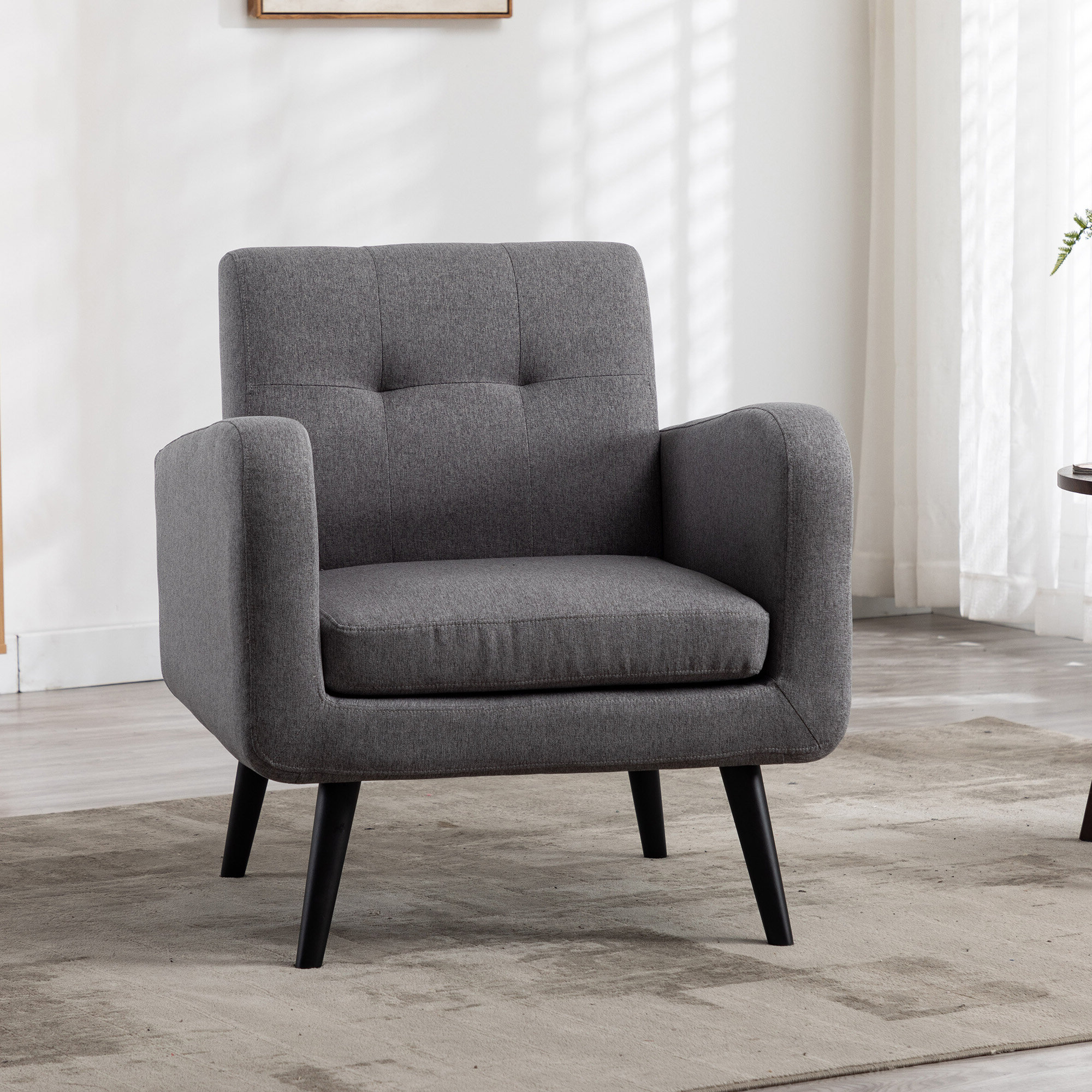 2019 Armory Fabric Armchairs With Regard To Armory Fabric Armchair (View 2 of 20)
