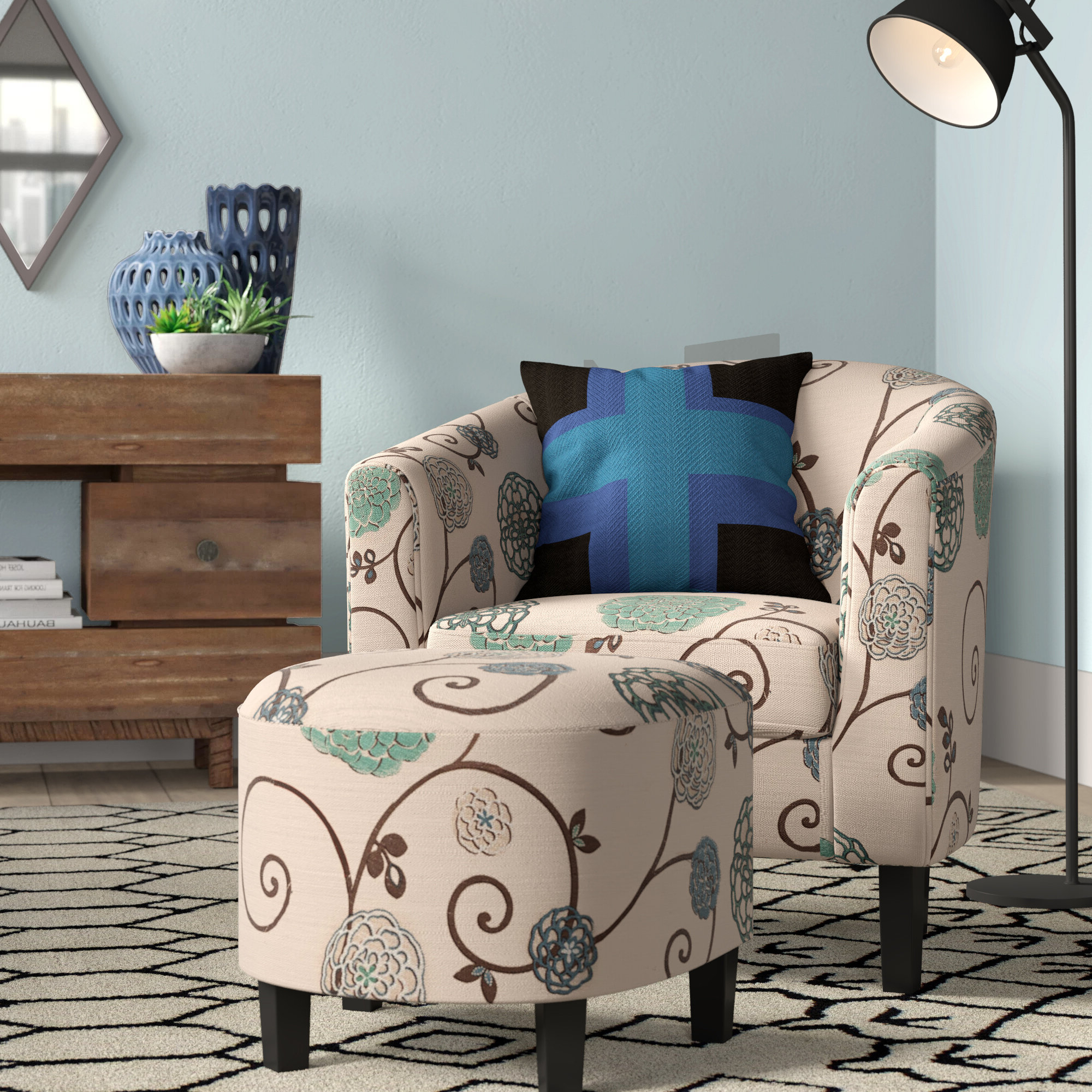 2019 Barrel Grey Accent Chairs You'll Love In (View 20 of 20)