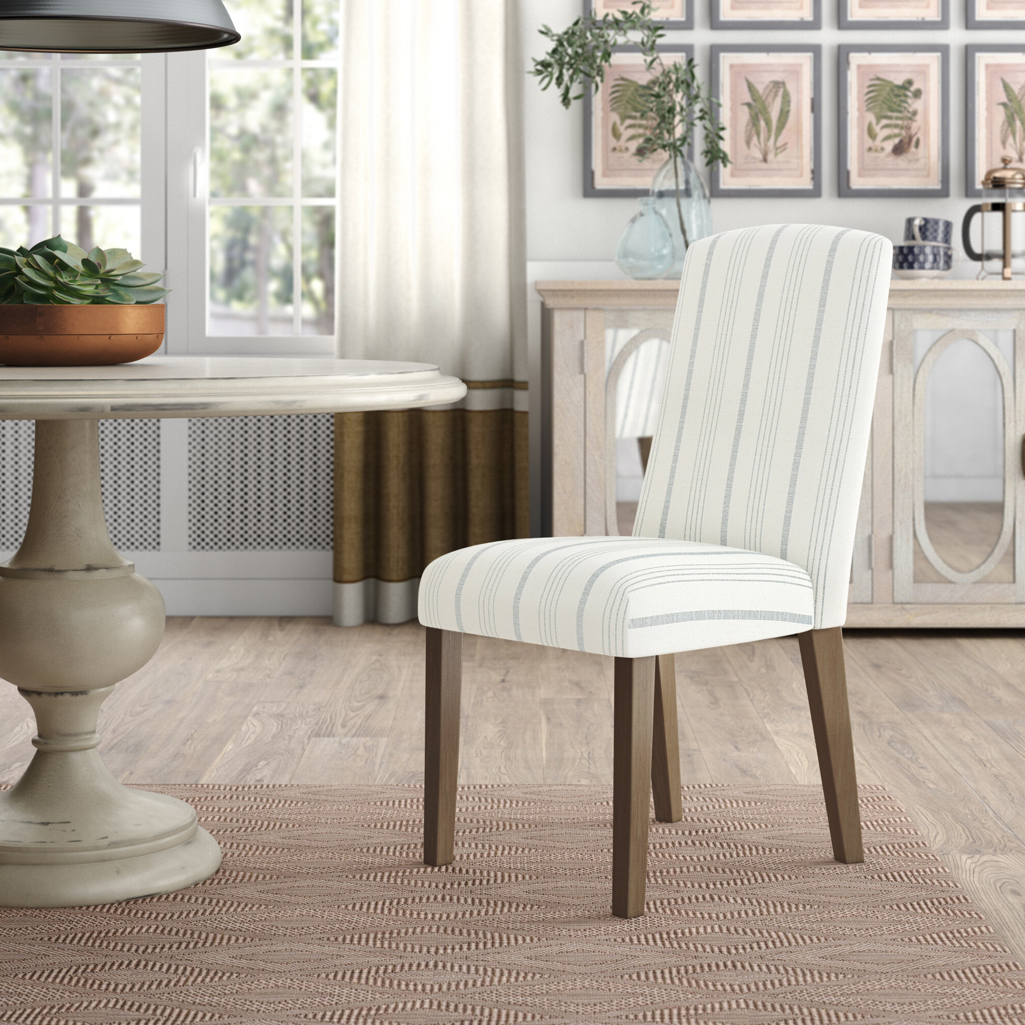 2019 Coastal Parsons Kitchen & Dining Chairs You'll Love In 2021 With Aime Upholstered Parsons Chairs In Beige (View 4 of 20)