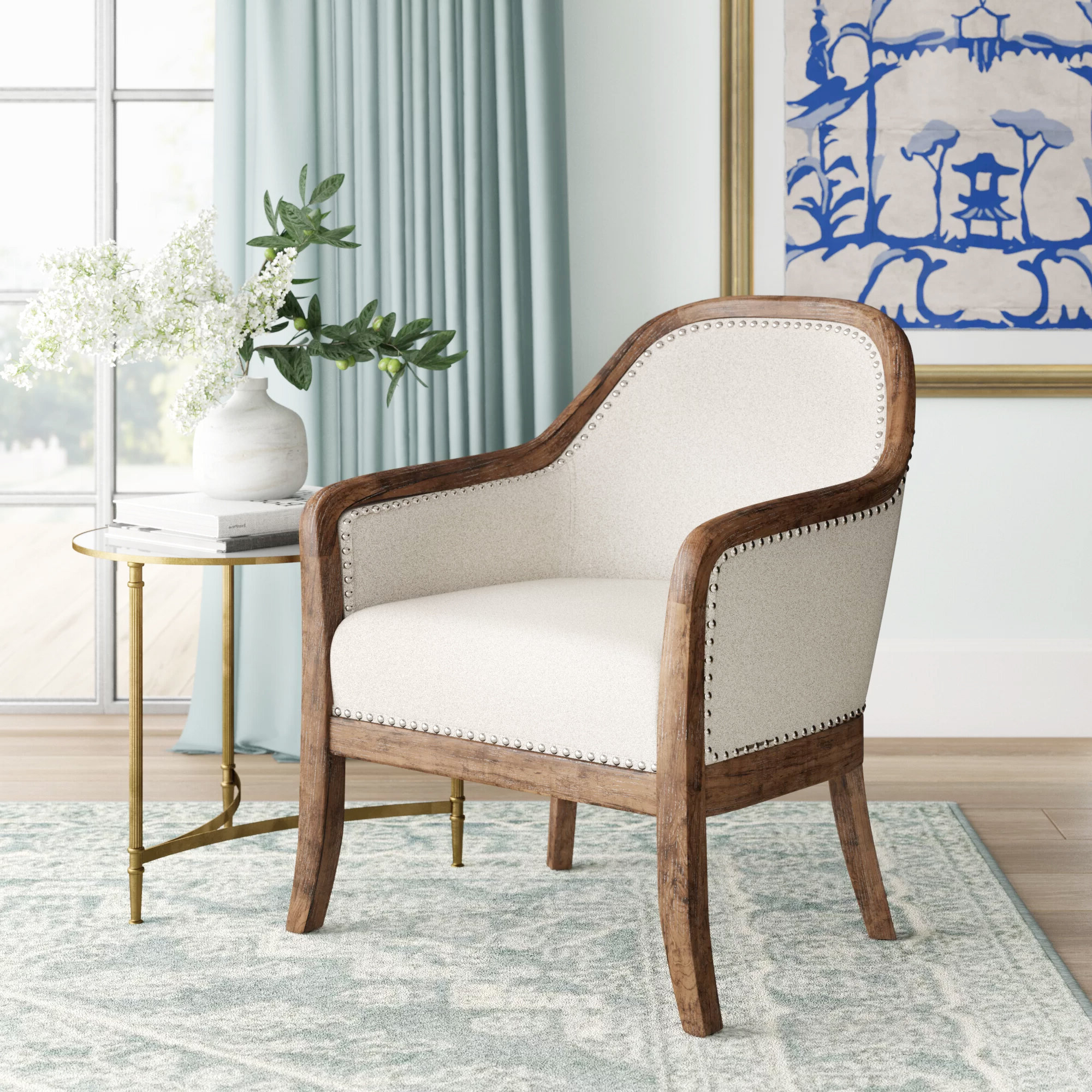 2020 Briseno Barrel Chairs In Hillary Barrel Chair & Reviews (View 2 of 20)