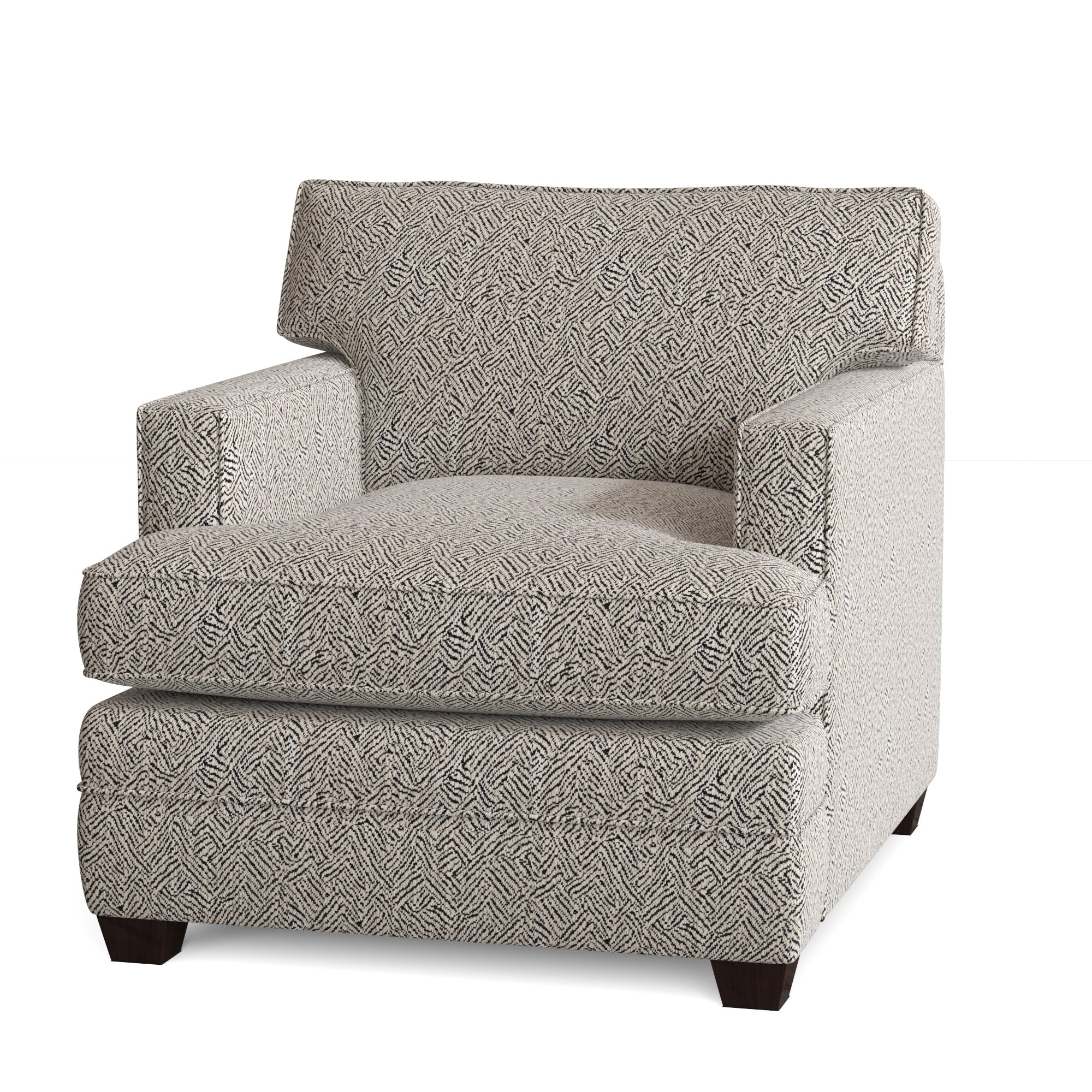 2020 Brookhhurst Avina Armchairs Inside Black Silver Accent Chairs You'll Love In (View 17 of 20)