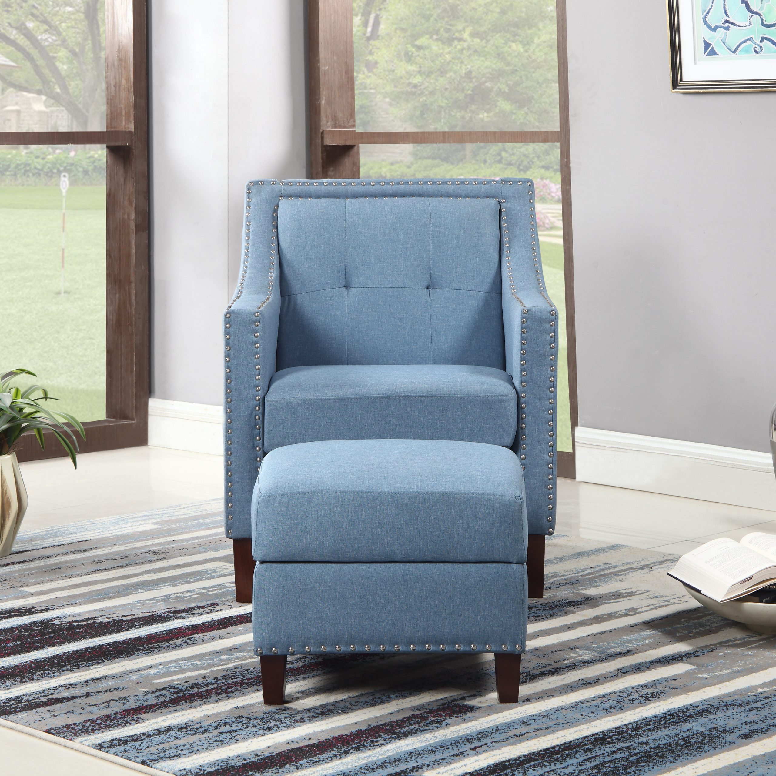 2020 Dara Armchairs Throughout Sonya Armchair Ottoman (View 10 of 20)