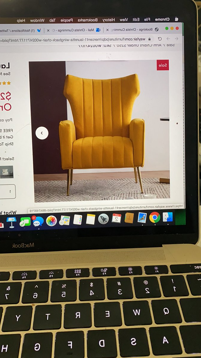 2020 Lauretta Velvet Wingback Chairs Pertaining To Lauretta Wingback Chair (View 20 of 20)