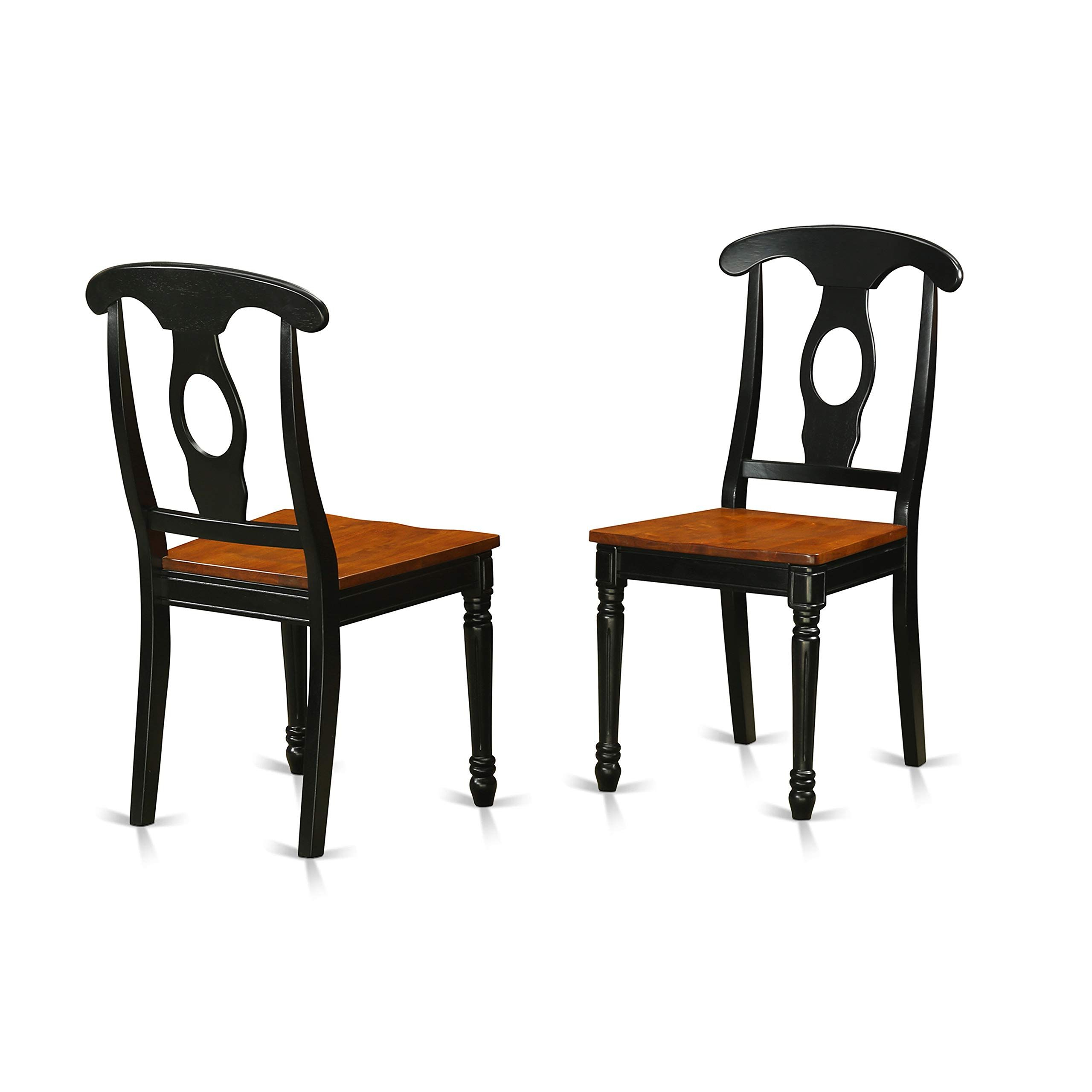 2020 Liston Faux Leather Barrel Chairs With Regard To East West Furniture Kecblkw Kitchen/dining Chair Set With (View 15 of 20)