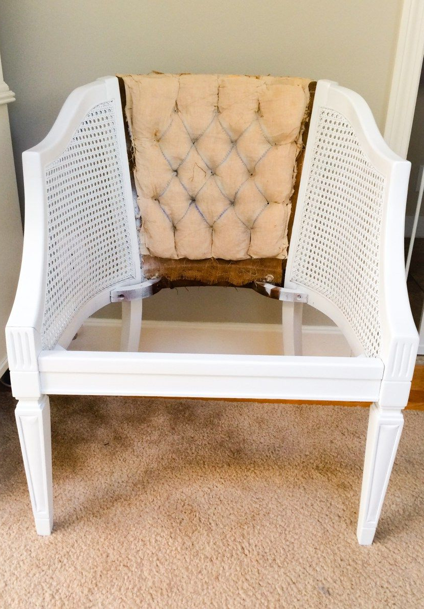 2020 Ronda Barrel Chairs For Reupholstering Cane Barrel Chairs Phase 3 Sanding, Priming (View 18 of 20)