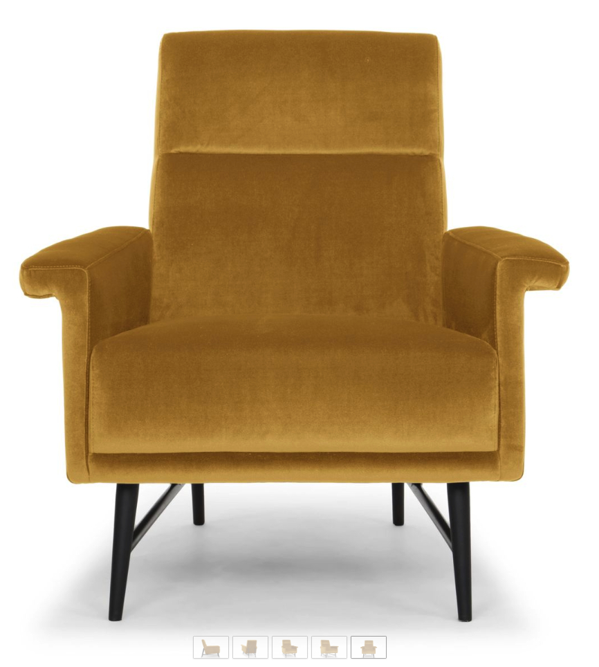 6 Mustard Yellow Accent Chairs For Stylish Homes – Cute Within Most Recently Released Giguere Barrel Chairs (View 5 of 20)