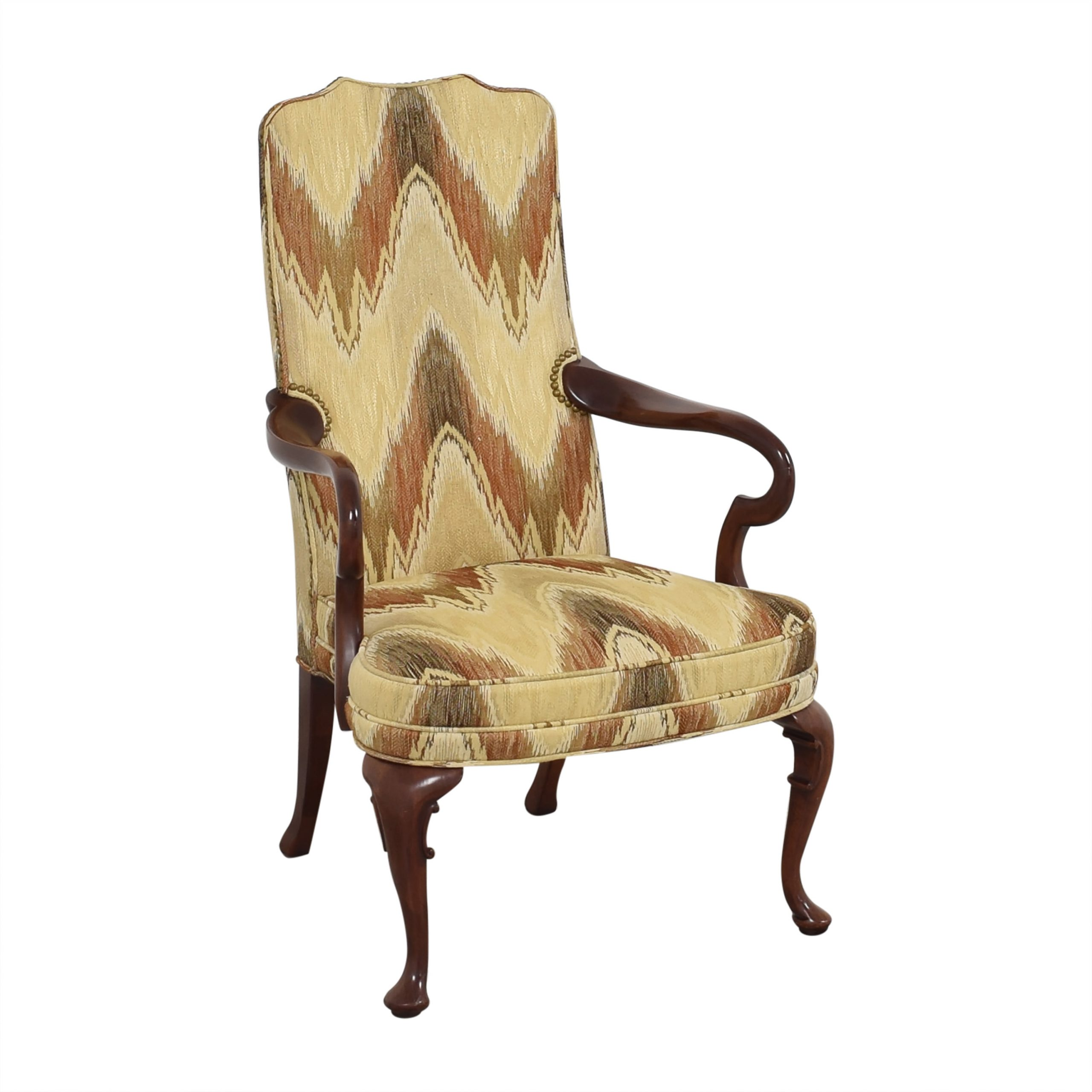 [%79% Off – Hickory Chair Hickory Chair James River Arm Chair With Nailhead  Trim 1892 / Chairs With Favorite James Armchairs|james Armchairs With Regard To Fashionable 79% Off – Hickory Chair Hickory Chair James River Arm Chair With Nailhead  Trim 1892 / Chairs|well Known James Armchairs Intended For 79% Off – Hickory Chair Hickory Chair James River Arm Chair With Nailhead  Trim 1892 / Chairs|favorite 79% Off – Hickory Chair Hickory Chair James River Arm Chair With Nailhead  Trim 1892 / Chairs In James Armchairs%] (View 17 of 20)
