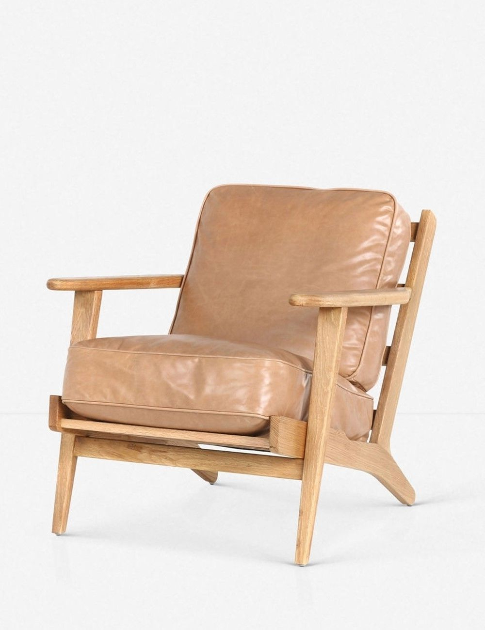 Aalivia Slipper Chairs Pertaining To Widely Used Austin Accent Chair, Palomino Tan (View 17 of 20)