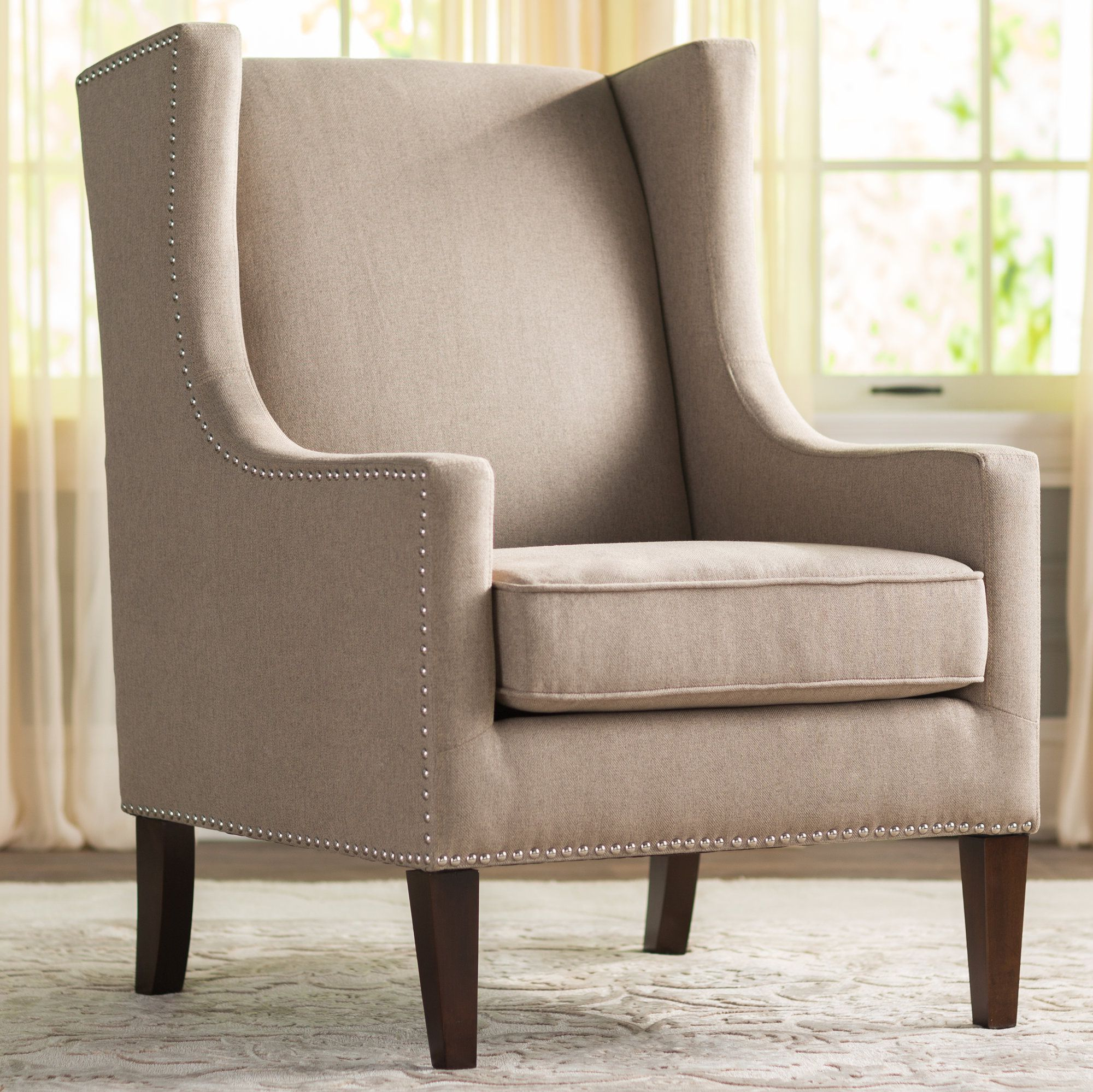 Agnes Wingback Chair (View 5 of 20)