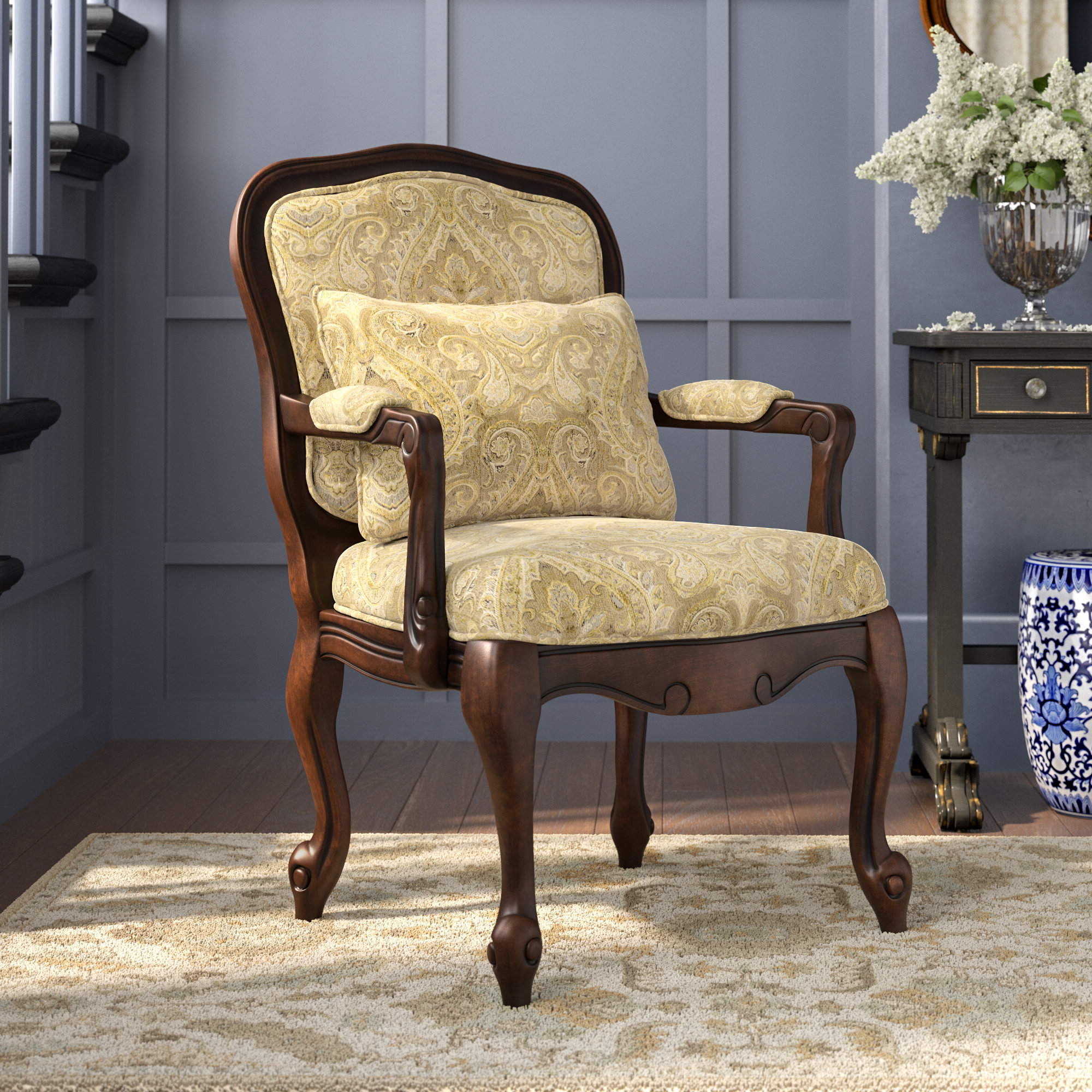 Albryna Armchair In 2020 Pitts Armchairs (View 8 of 20)