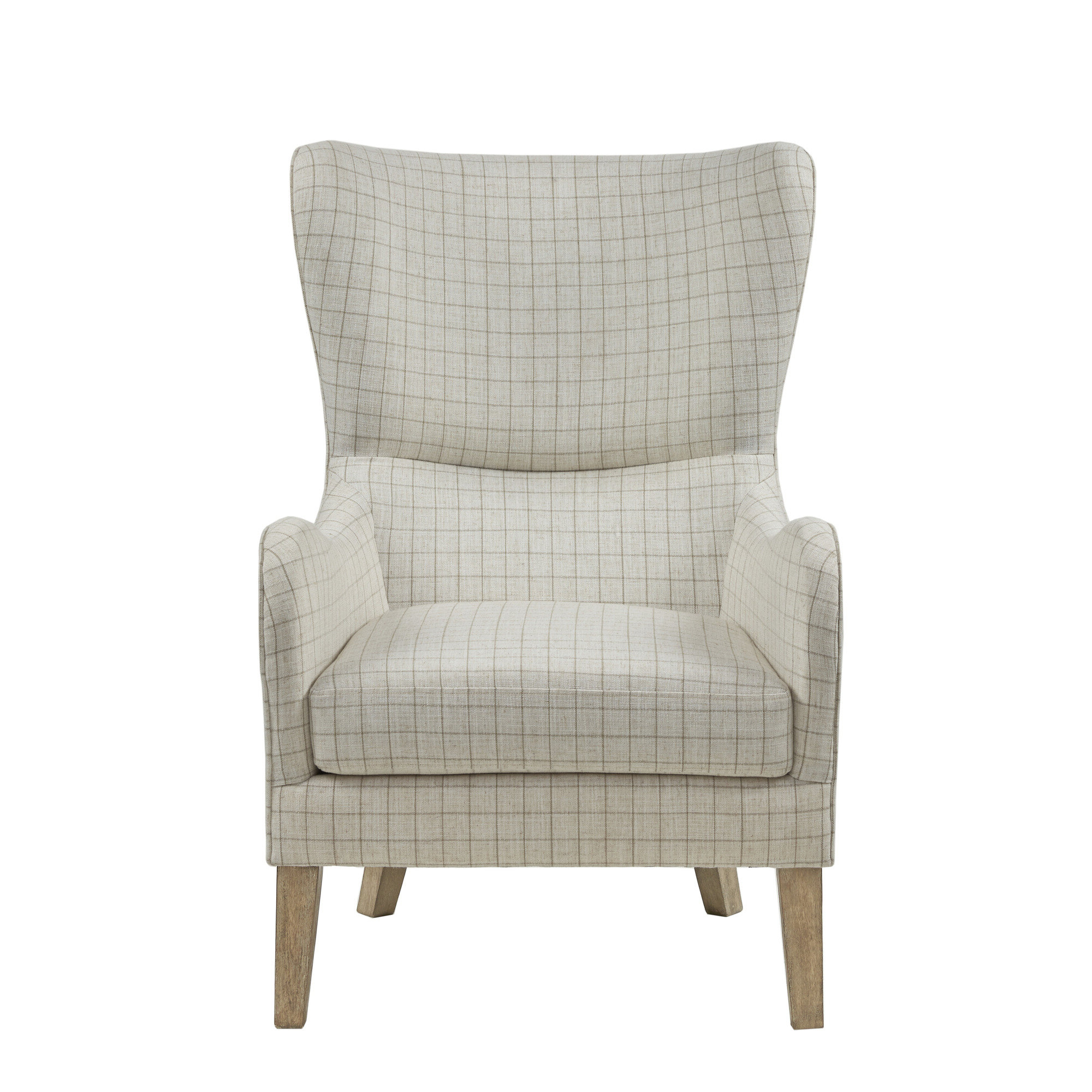 Allis Tufted Polyester Blend Wingback Chairs Throughout Well Known Oday  (View 4 of 20)