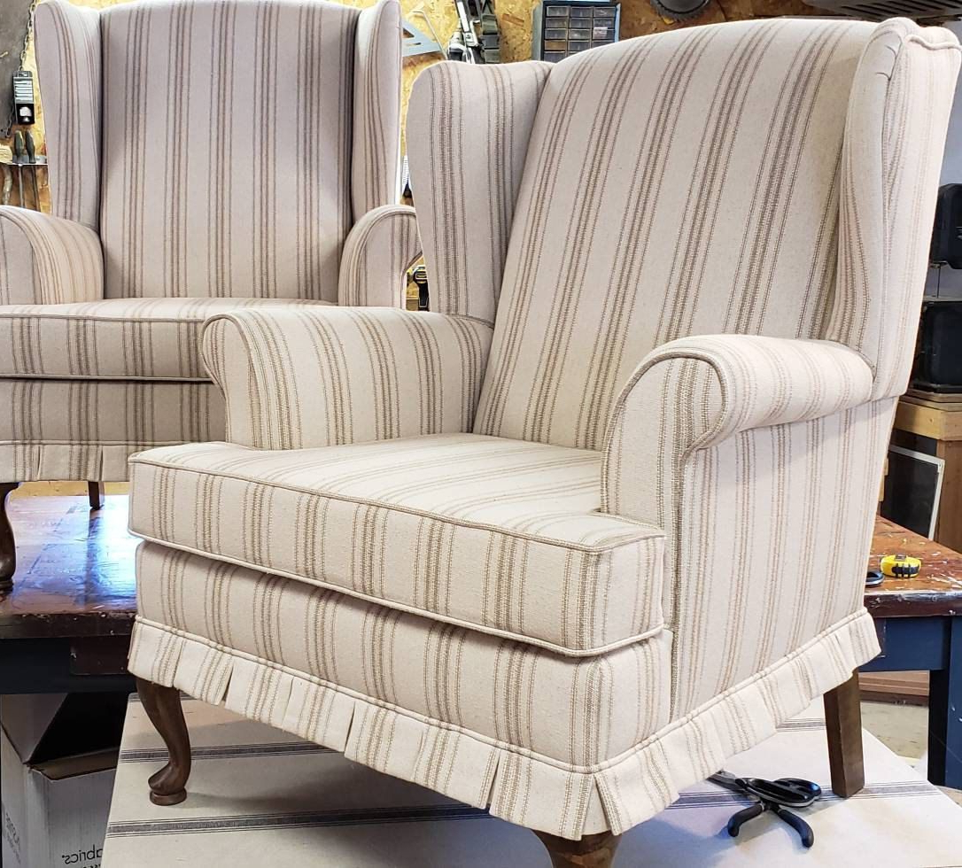 Altamahaw Swoop Side Chairs Inside Newest Sold Custom Recreate Pair Of French Country Farmhouse (View 6 of 20)