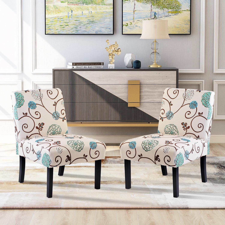 Aniruddha Slipper Chairs In Well Known Yaelle Slipper Chair (View 4 of 20)
