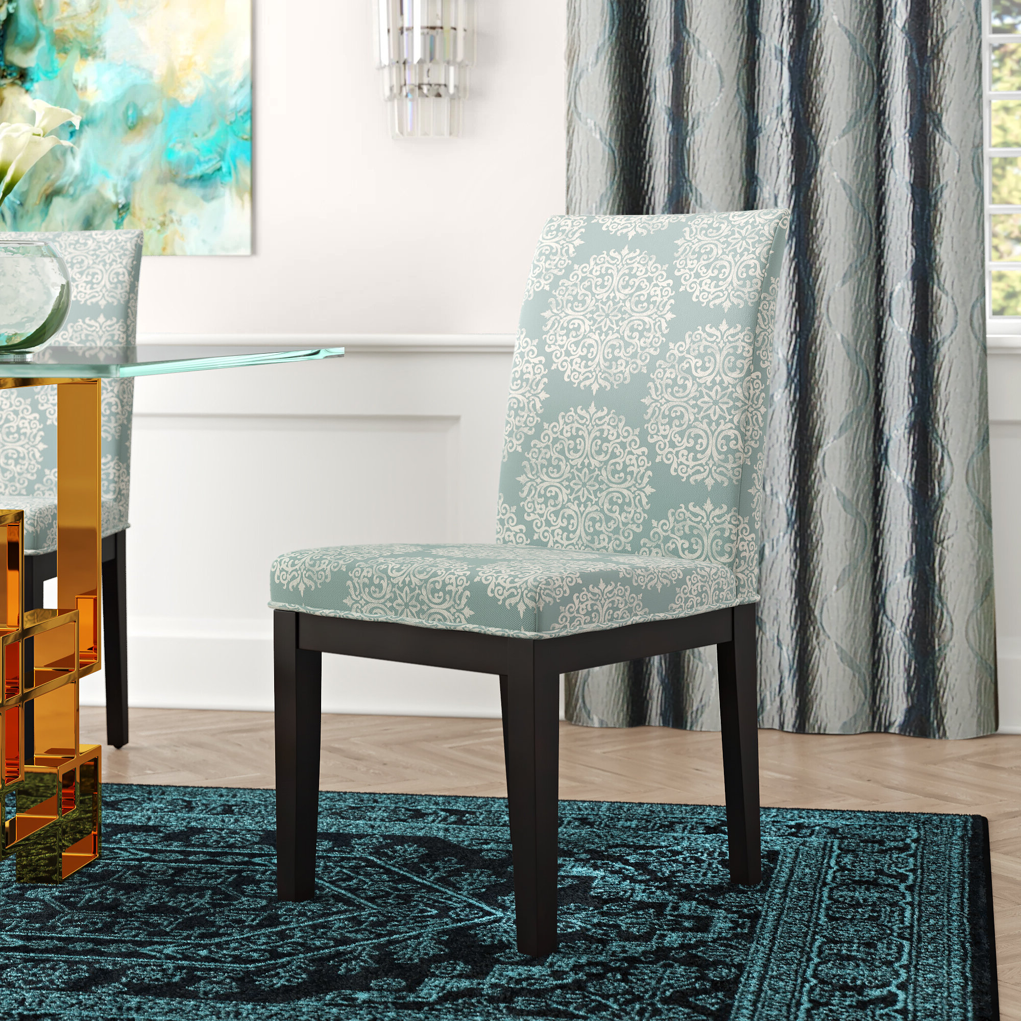 Ansby Barrel Chairs With Regard To Most Current Floral Accent Chairs Under $150 You'll Love In (View 10 of 20)
