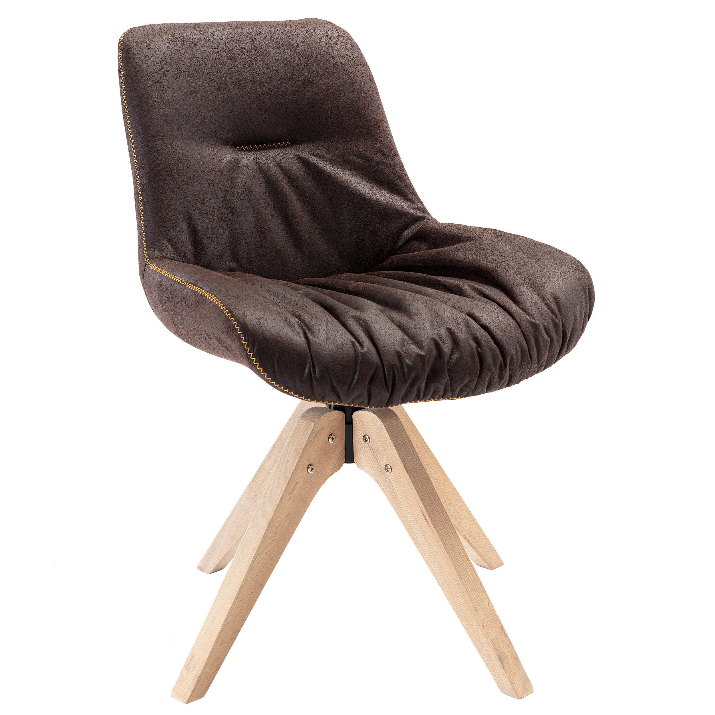 Arabelle Swivel Side Chair Throughout Most Current Brister Swivel Side Chairs (View 10 of 20)