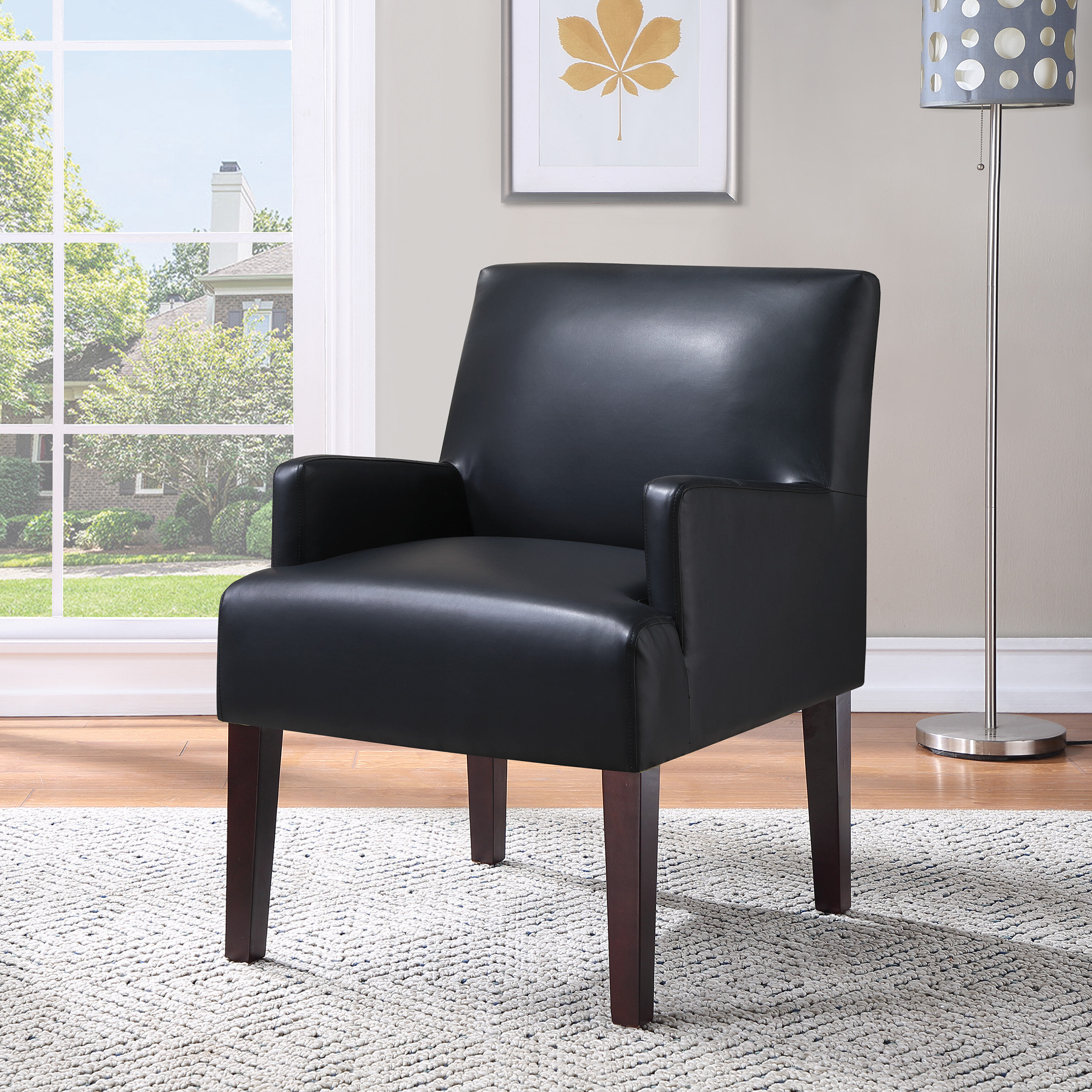 Arm Black Accent Chairs You'll Love In (View 19 of 20)