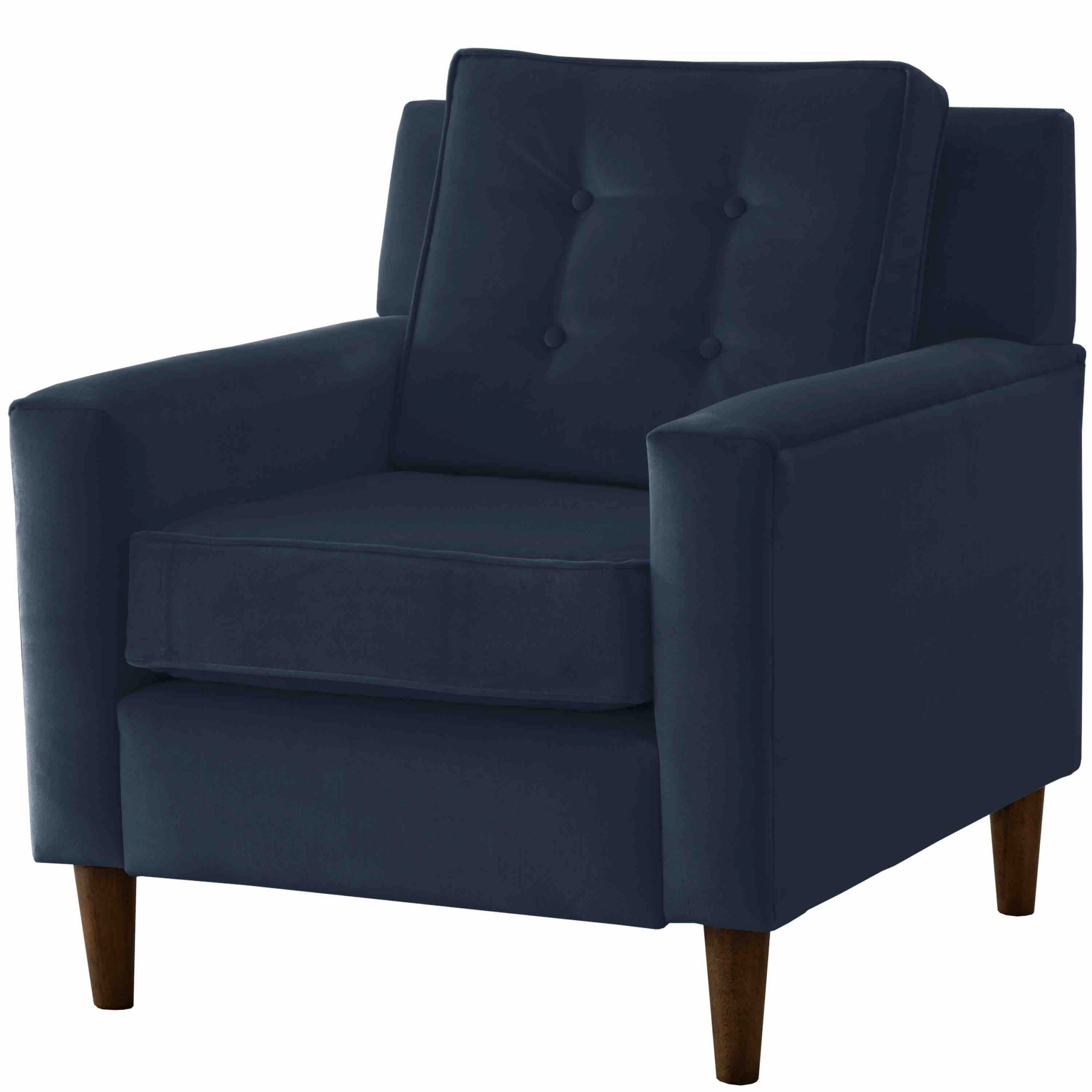 Arm Chair – Parkview Style 5505 – Navy Velvet – Third & Vine Intended For Current Ziaa Armchairs (set Of 2) (View 15 of 20)