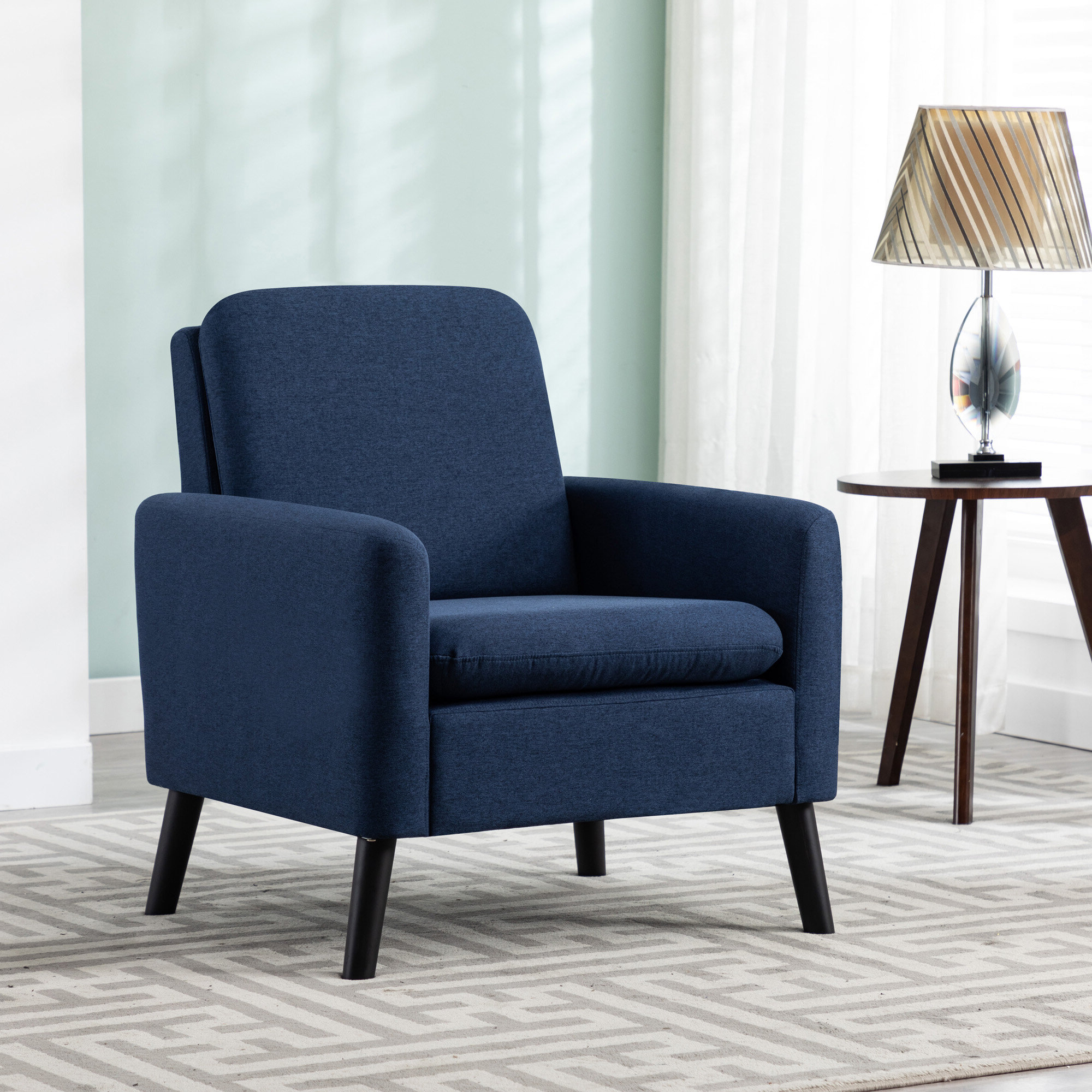 Arm Modern & Contemporary Accent Chairs You'll Love In 2021 Intended For Well Known Lakeville Armchairs (View 9 of 20)