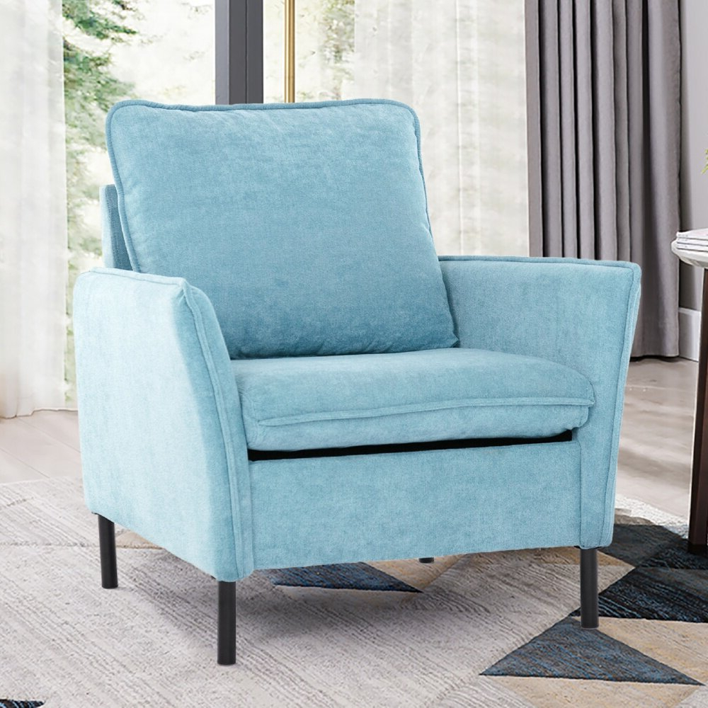 Arm Modern & Contemporary Accent Chairs You'll Love In 2021 Throughout Popular Lakeville Armchairs (View 11 of 20)