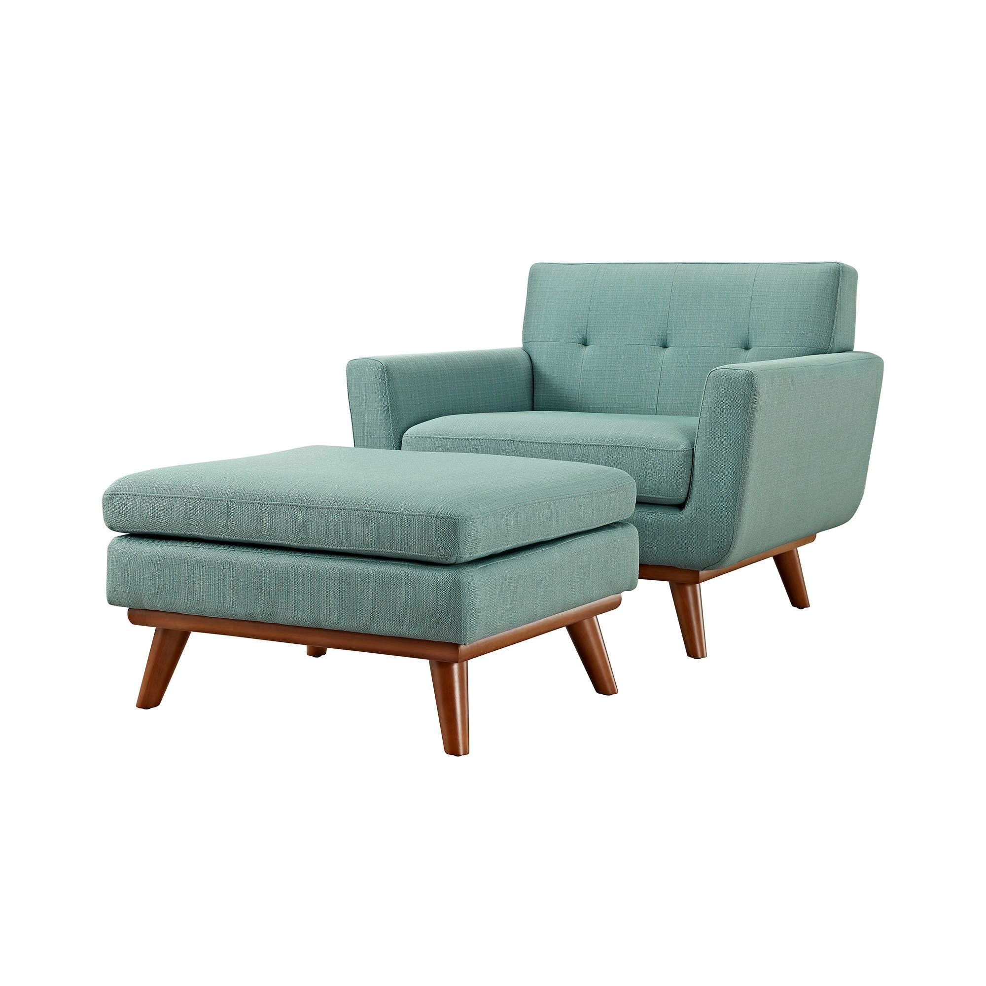 Armchair And Ottoman Set With Favorite Michalak Cheswood Armchairs And Ottoman (View 9 of 20)