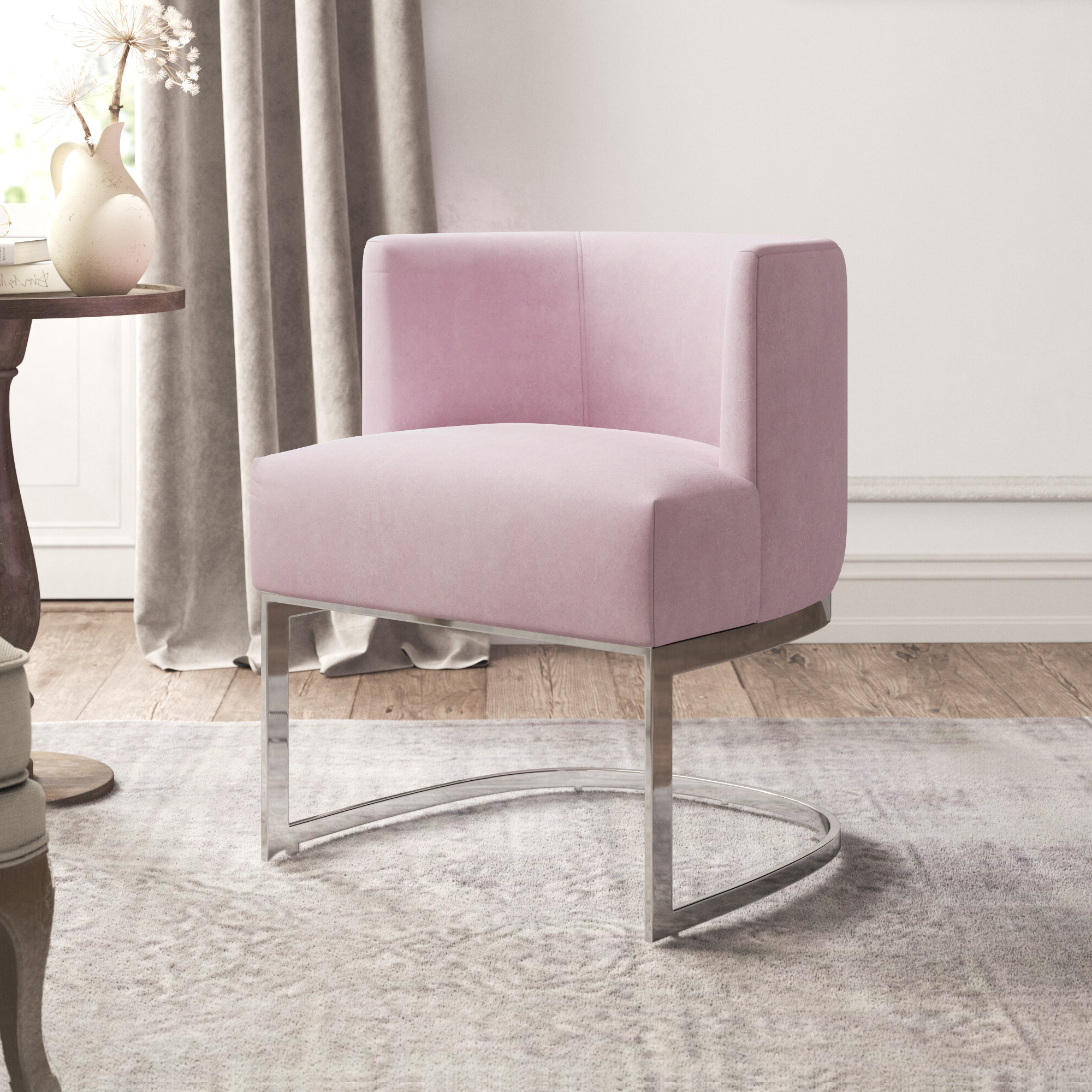 Armless Barrel Accent Chairs You'll Love In (View 14 of 20)