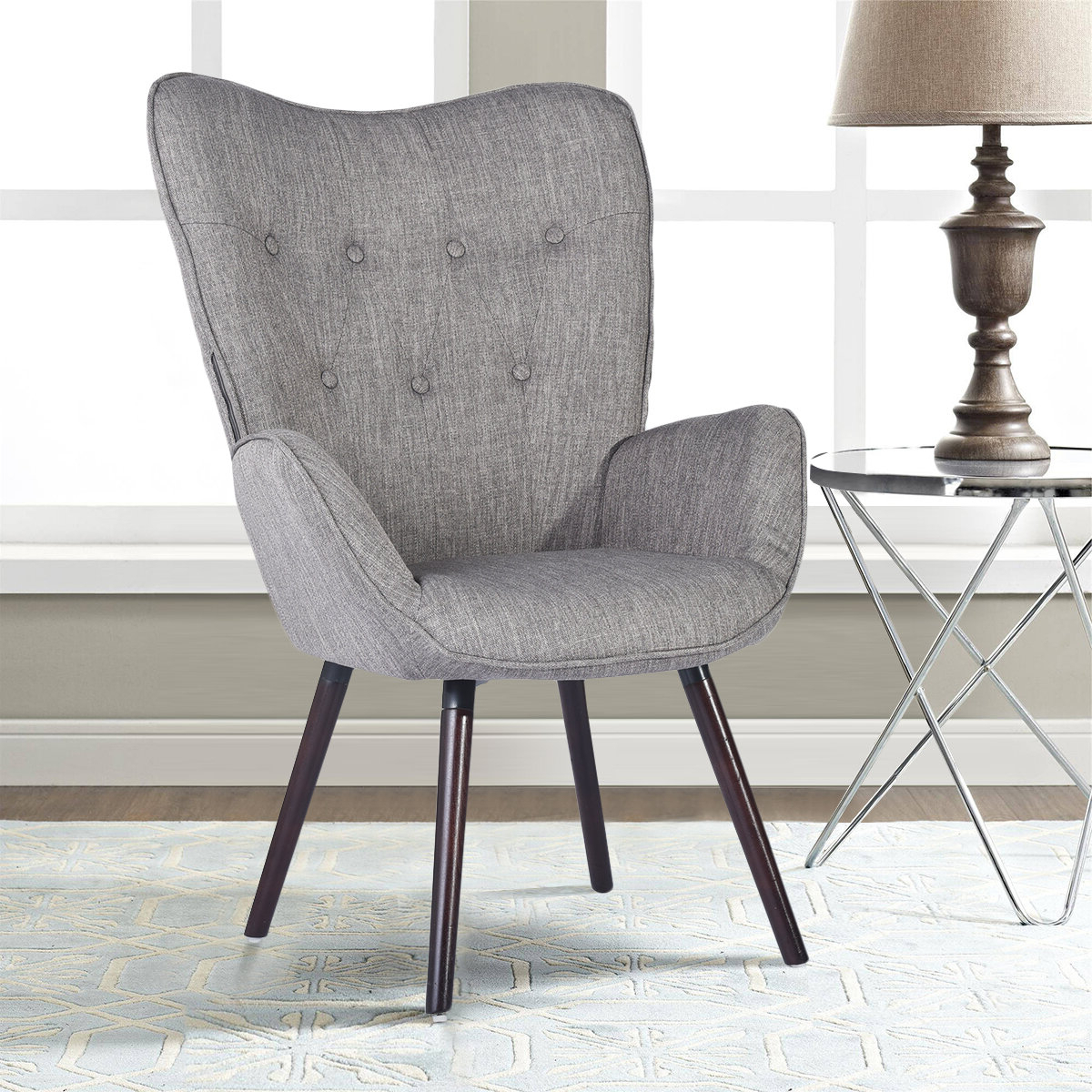 Armory Fabric Armchairs For Best And Newest Channel Armchair (View 5 of 20)
