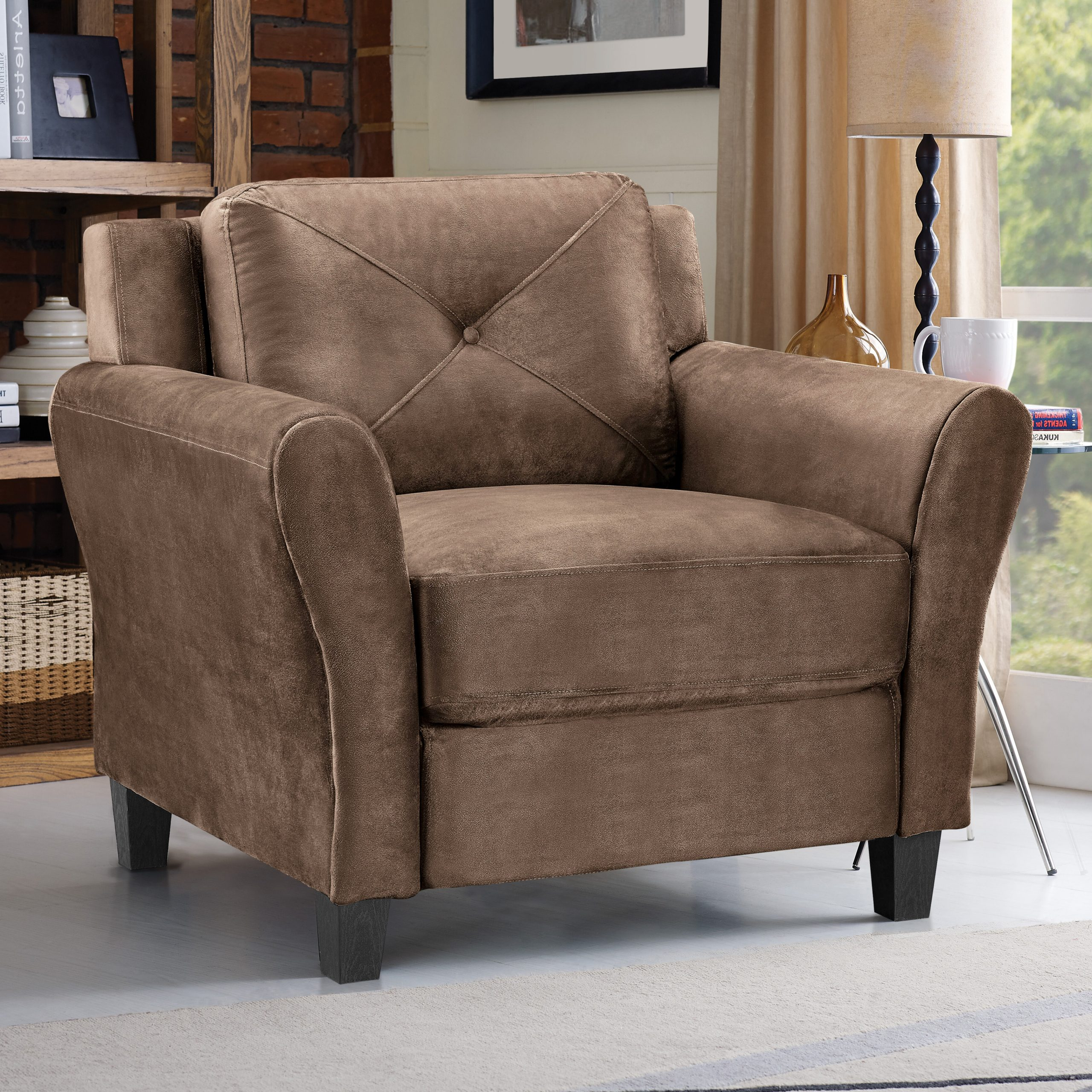Asbury Club Chairs Within Famous Club Accent Chairs You'll Love In (View 17 of 20)