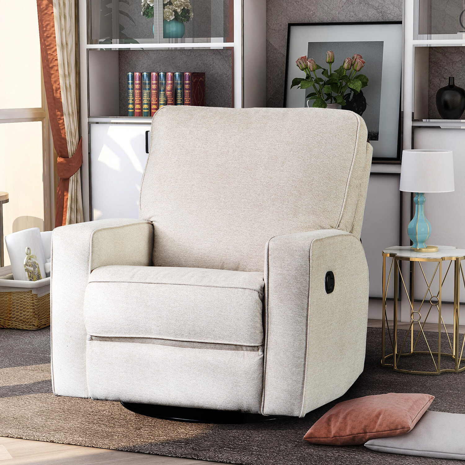 Autenberg Armchairs With Regard To Well Known Autenberg Manual Recliner (View 6 of 20)