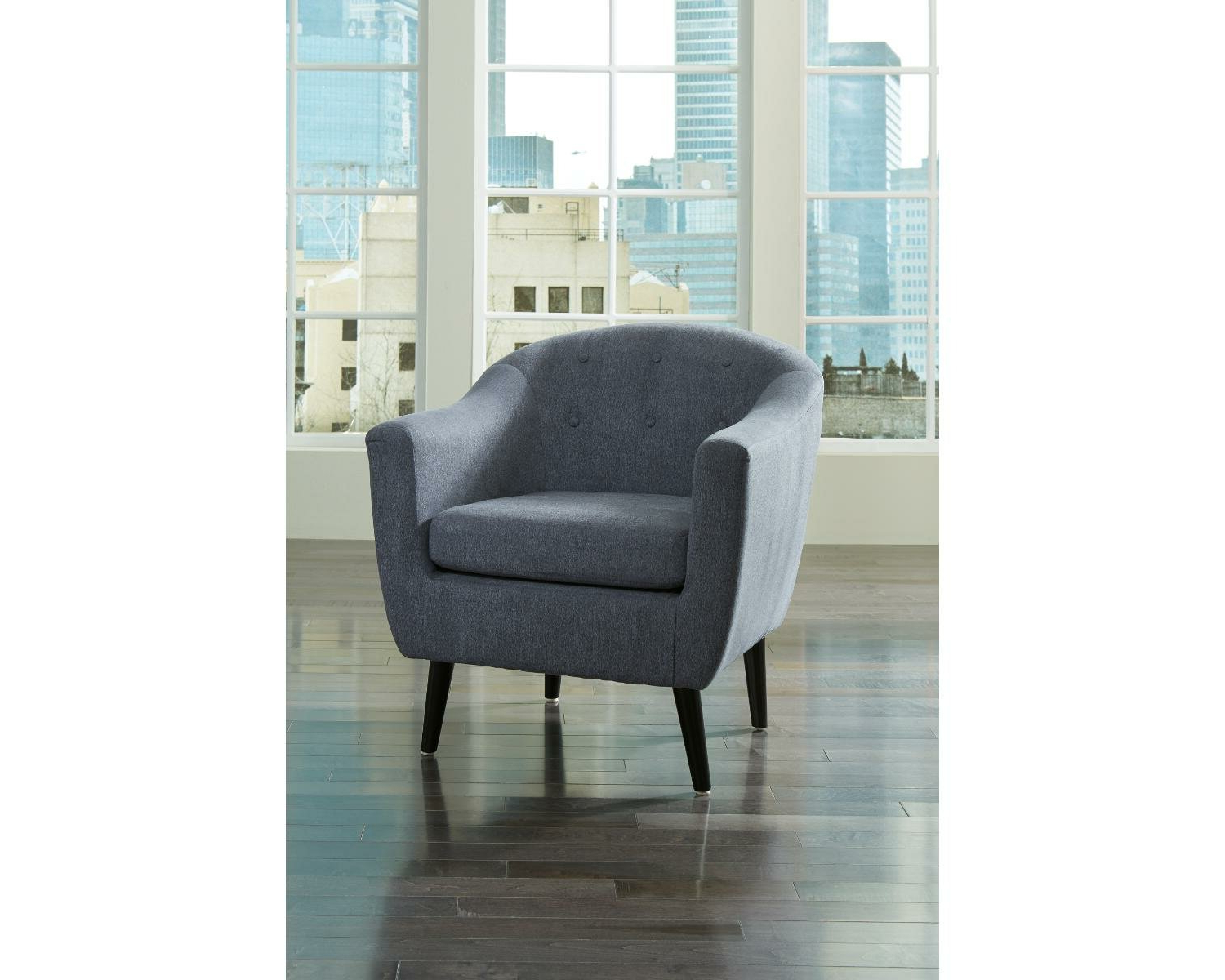 Barnard Polyester Barrel Chairs Throughout Fashionable Slinkard (View 5 of 20)
