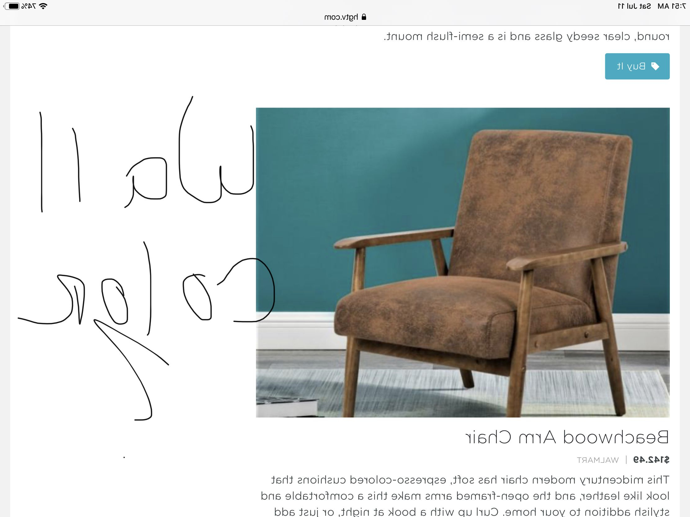 Beachwood Arm Chairs Intended For Well Known Pinroberta Massey On Master In (View 15 of 20)