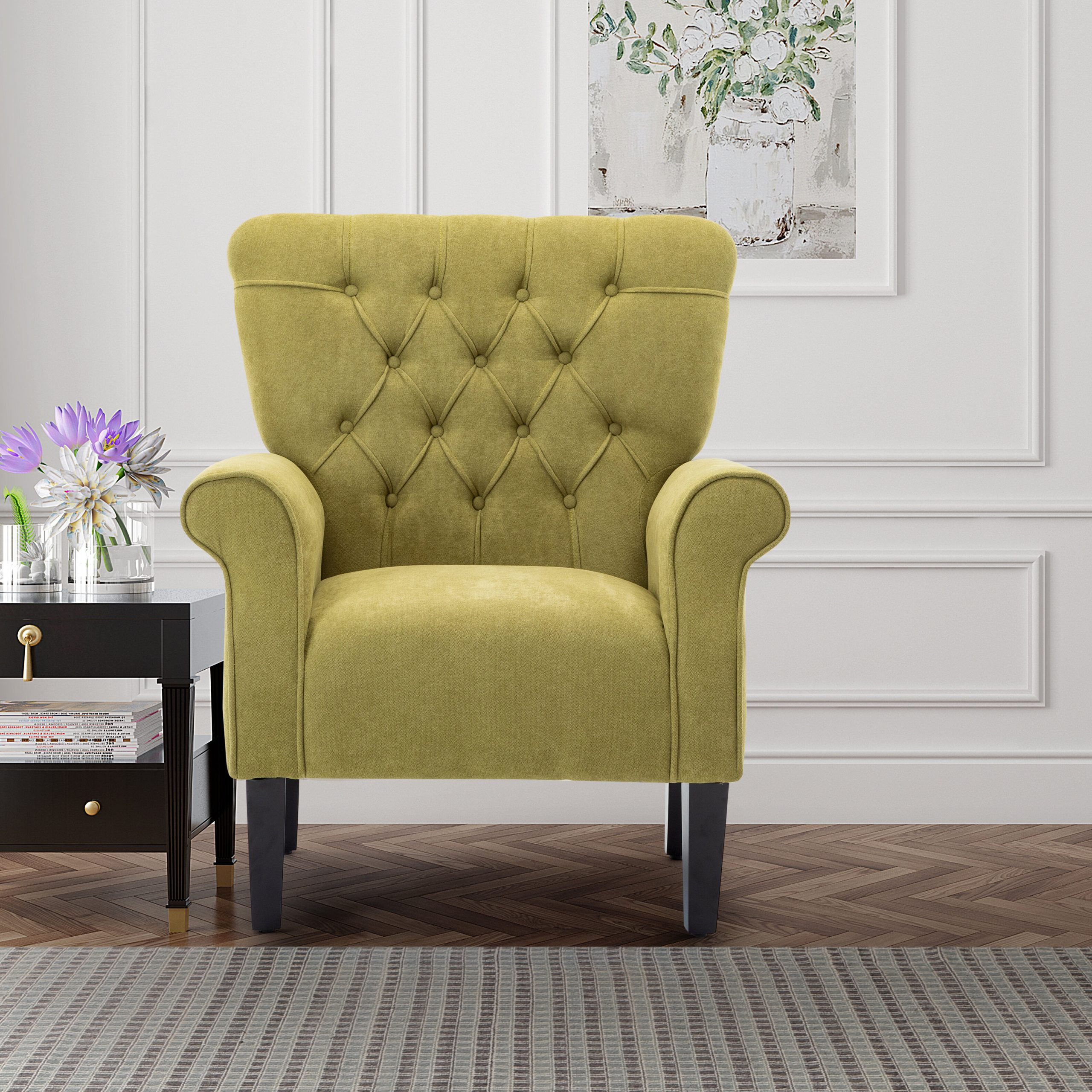 Best And Newest Arm Modern & Contemporary Accent Chairs You'll Love In 2021 Within Lakeville Armchairs (View 6 of 20)