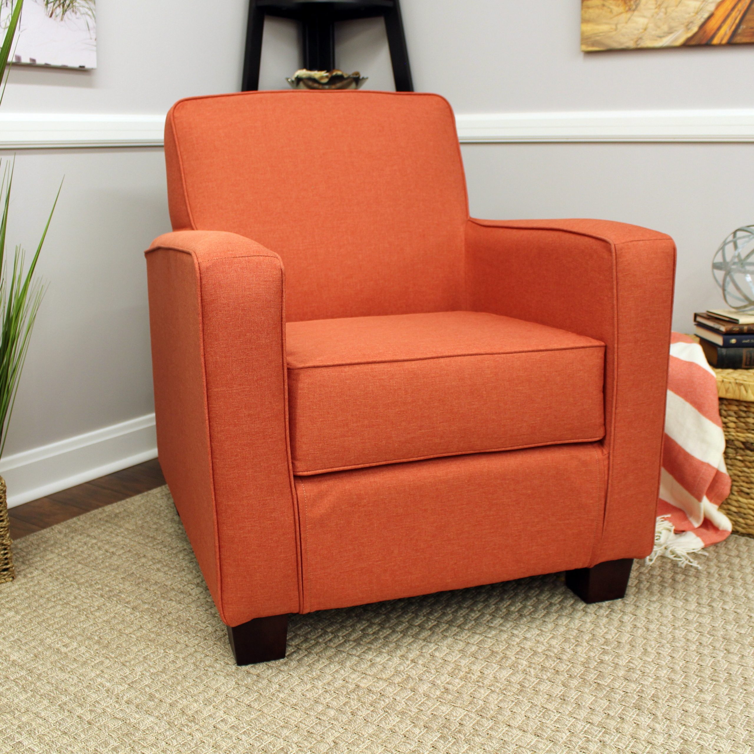 Best And Newest Artressia Barrel Chairs For Brown Orange Accent Chairs You'll Love In (View 15 of 20)