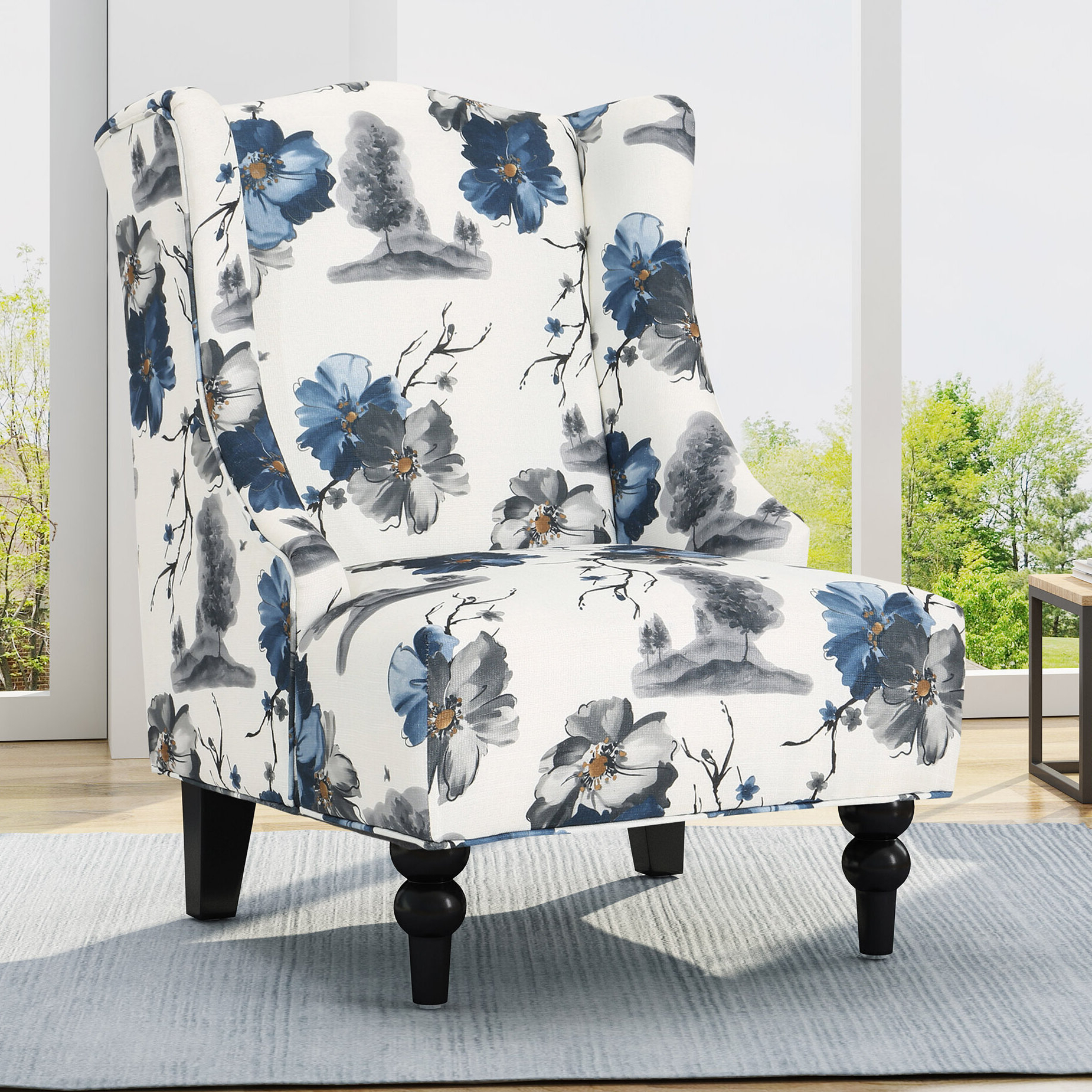 Best And Newest Caitlin Wingback Chair Inside Andover Wingback Chairs (View 7 of 20)