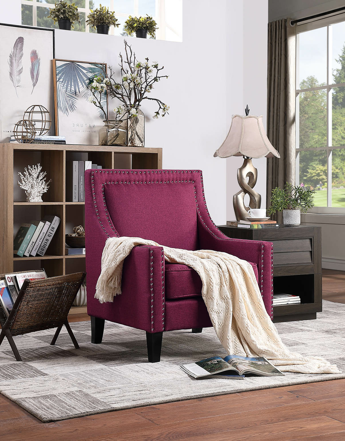 Best And Newest Claudel Polyester Blend Barrel Chairs In Kayleigh Armchair (View 18 of 20)