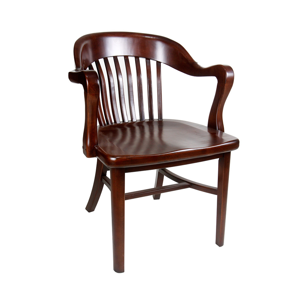 Best And Newest Deer Trail Armchairs Throughout Brenn Antique Wood Arm Chair (View 18 of 20)