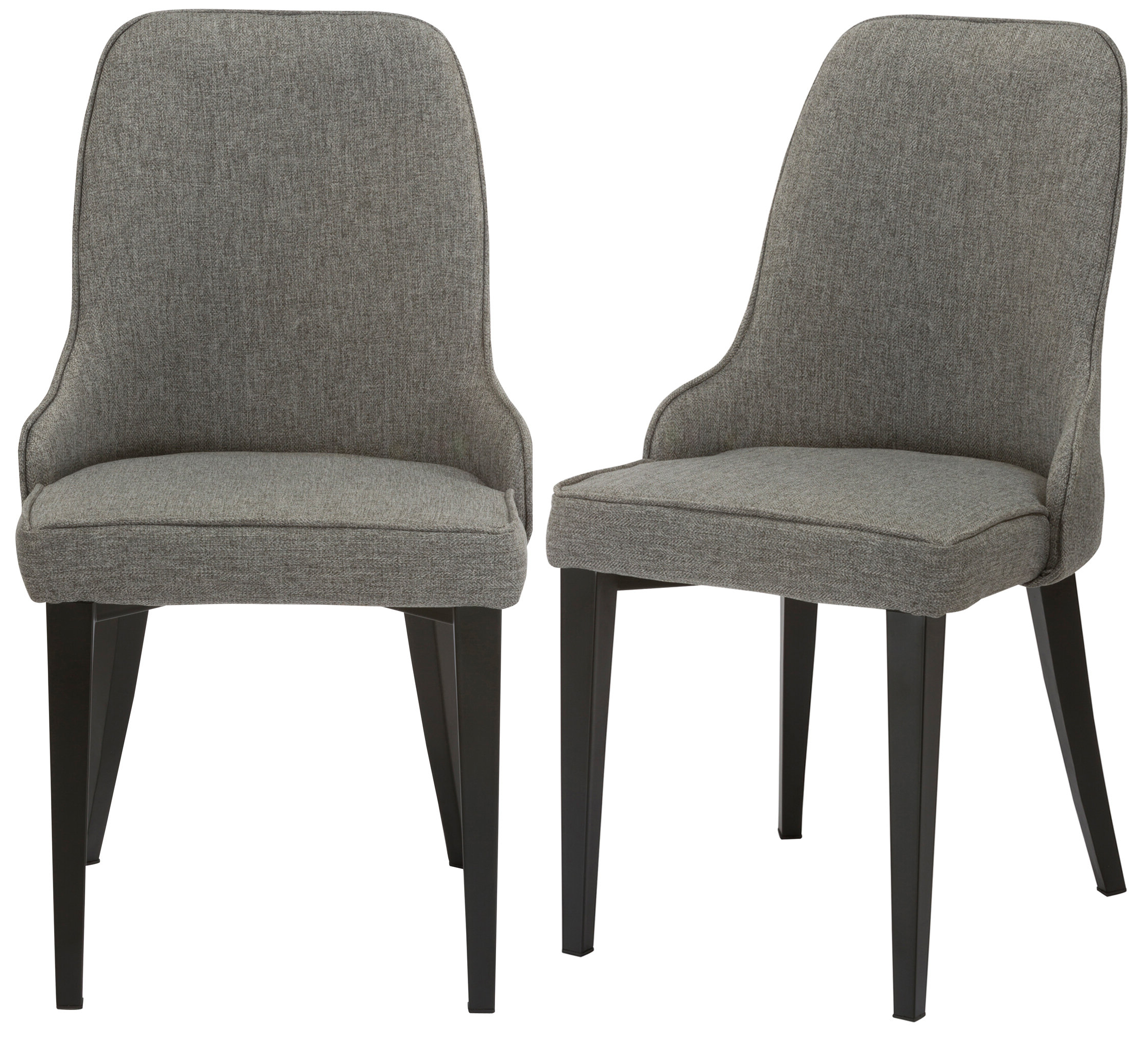 Best And Newest Erasmus Upholstered Metal Dining Chair Intended For Erasmus Side Chairs (View 12 of 20)