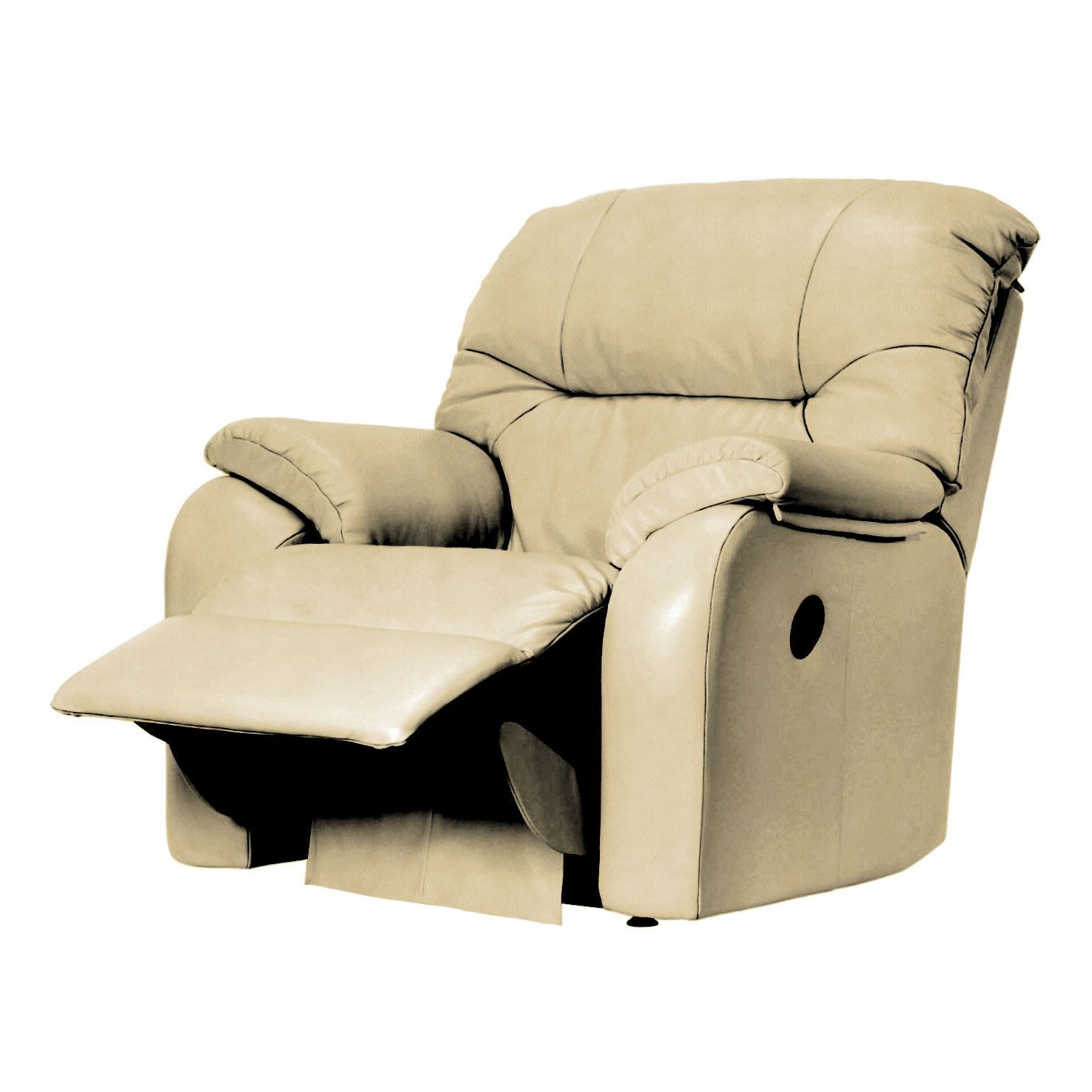 Best And Newest G Plan Mistral Manual Recliner Leather Armchair Regarding Portmeirion Armchairs (View 14 of 20)
