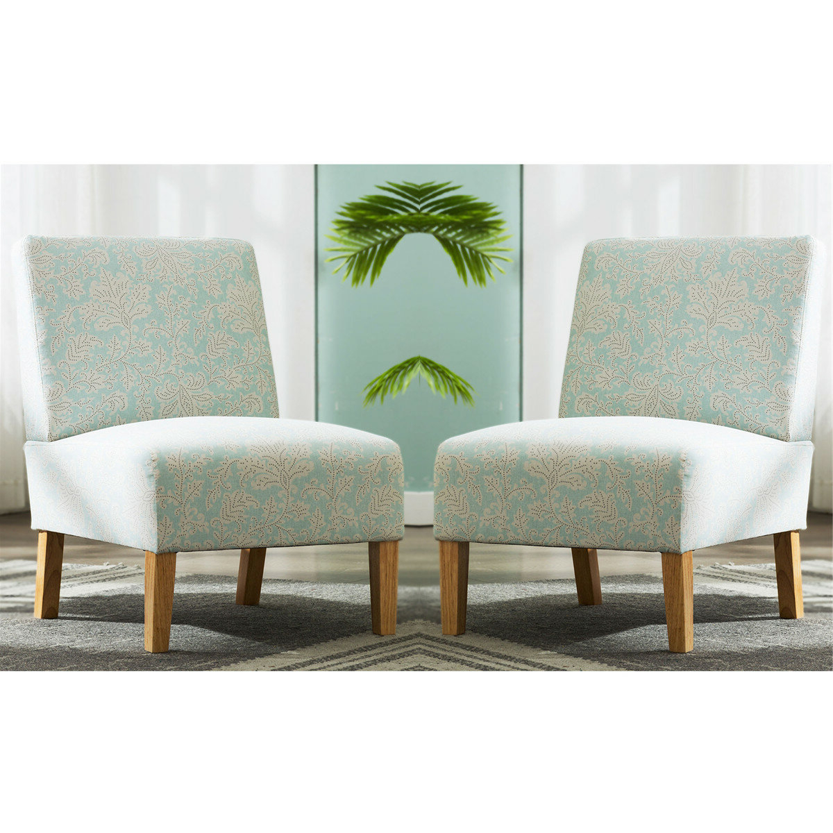 "Best And Newest Goodspeed Slipper Chairs (set Of 2) In Kiska 21"" Slipper Chair (View 12 of 20)"