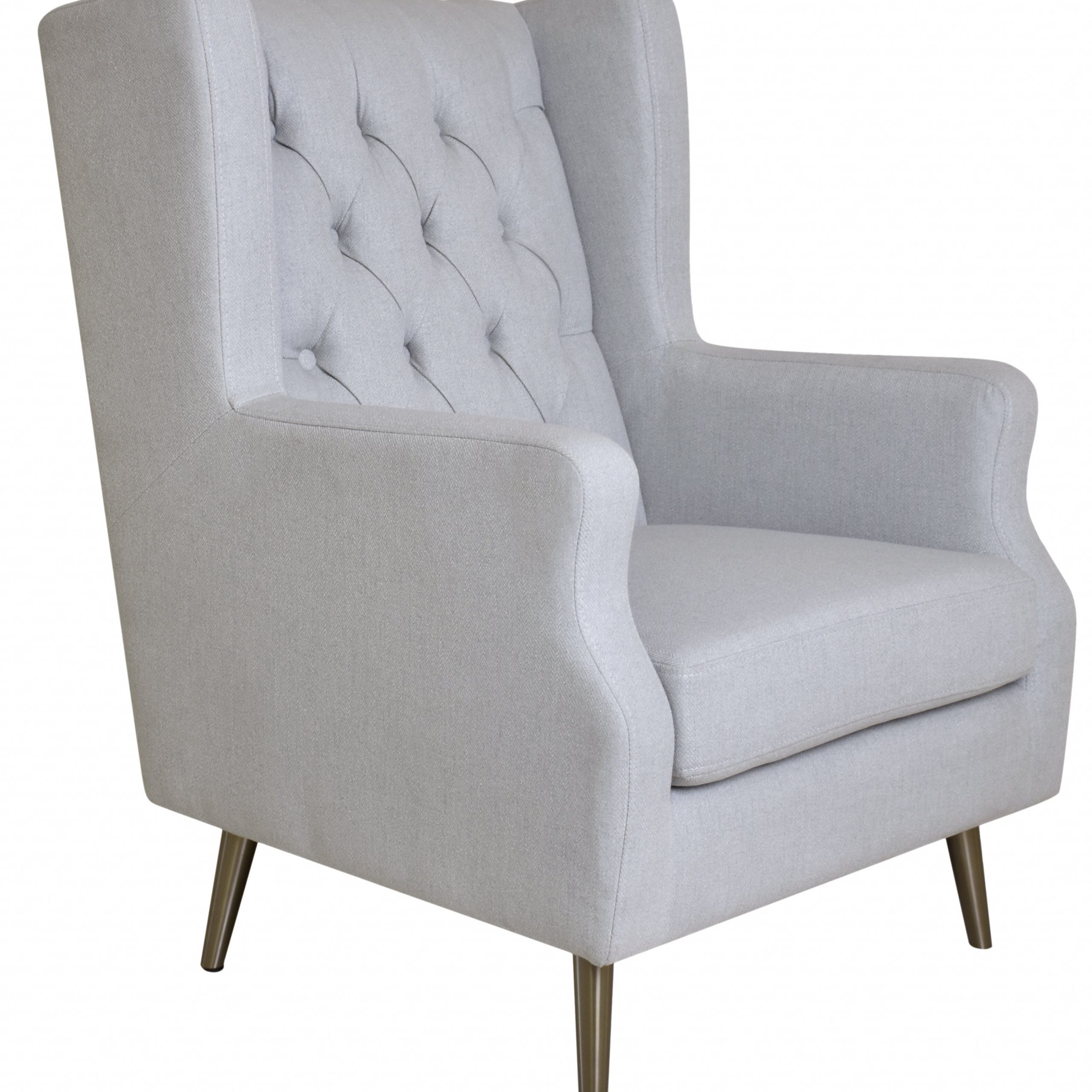 Best And Newest Thomas Wingback Chair Pertaining To Chagnon Wingback Chairs (View 19 of 20)