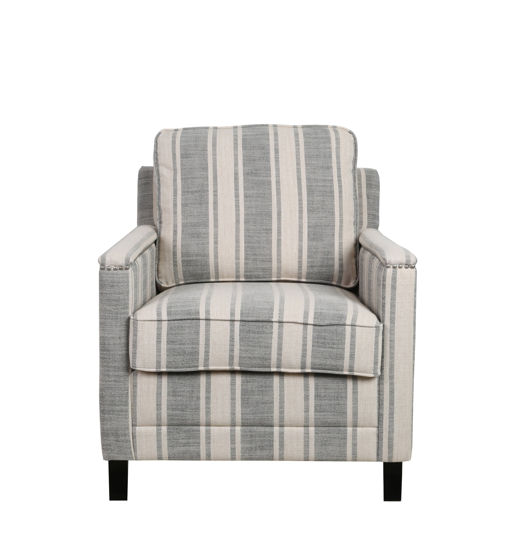 """Biggerstaff Polyester Blend Armchairs Intended For Recent Annona 30"""" W Armchair (View 4 of 20)"""