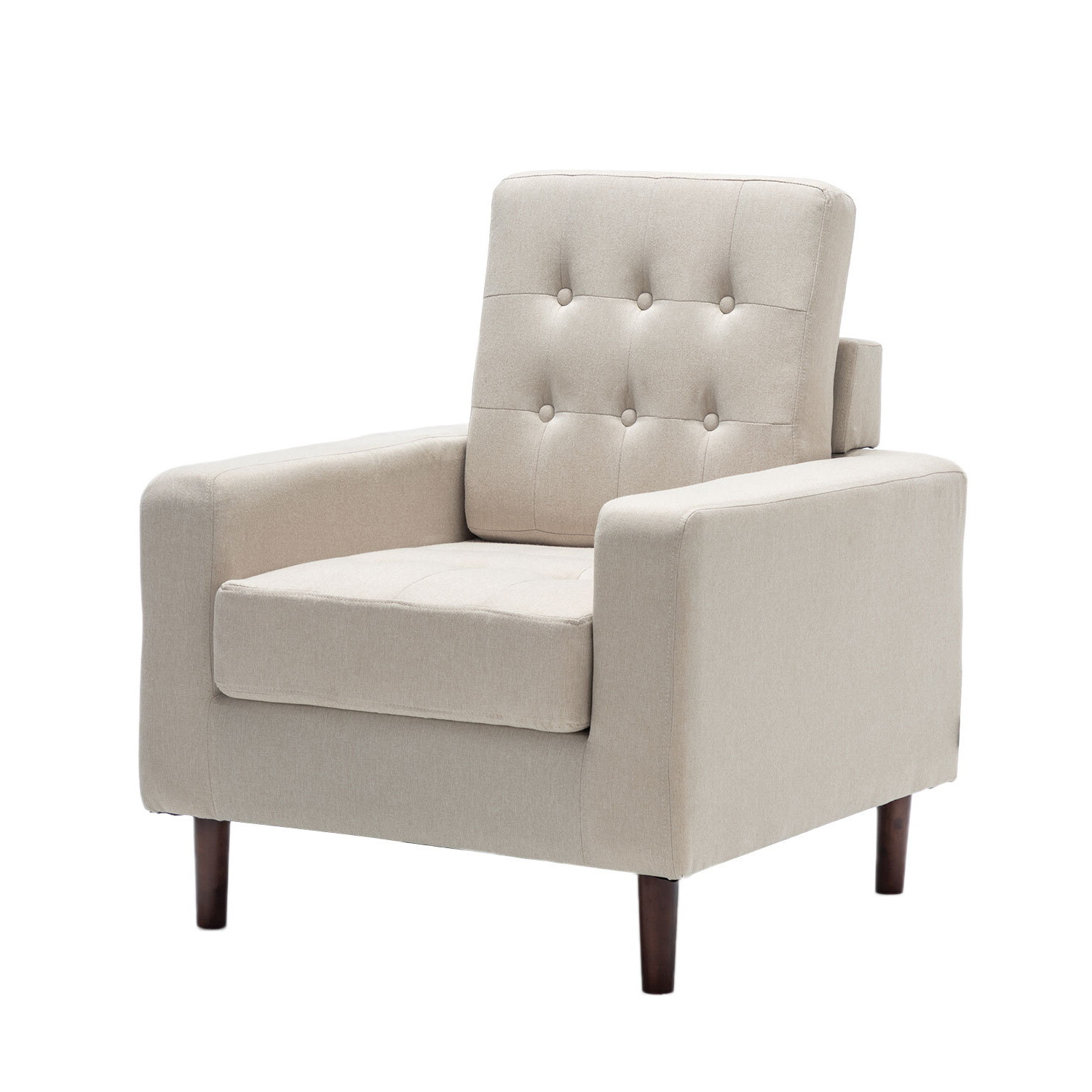 Biggerstaff Polyester Blend Armchairs Throughout Latest Greenguard Certified Small Accent Chairs You'll Love In  (View 16 of 20)