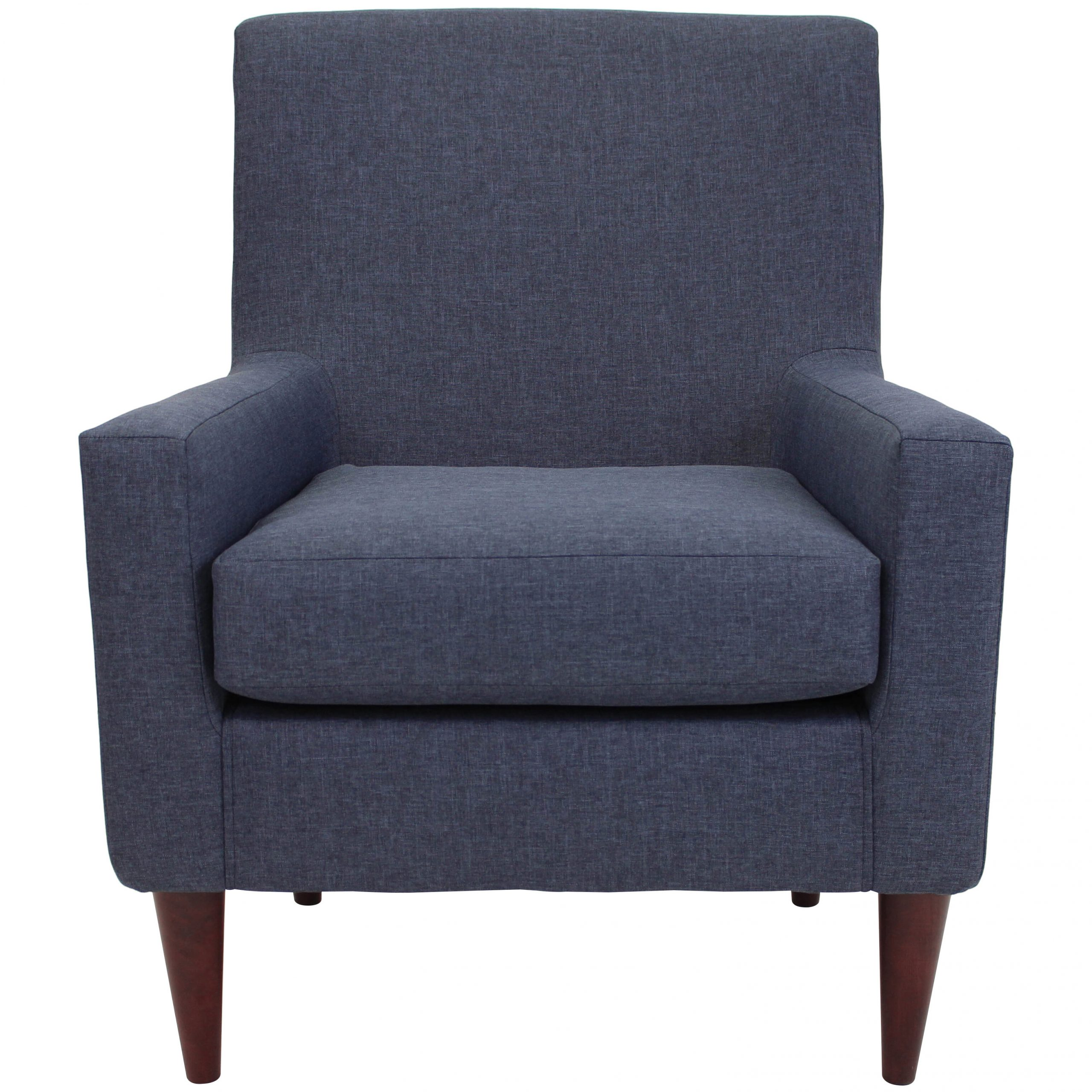 """Biggerstaff Polyester Blend Armchairs Throughout Newest Marisa 28"""" W Faux Leather Wingback Chair (View 3 of 20)"""