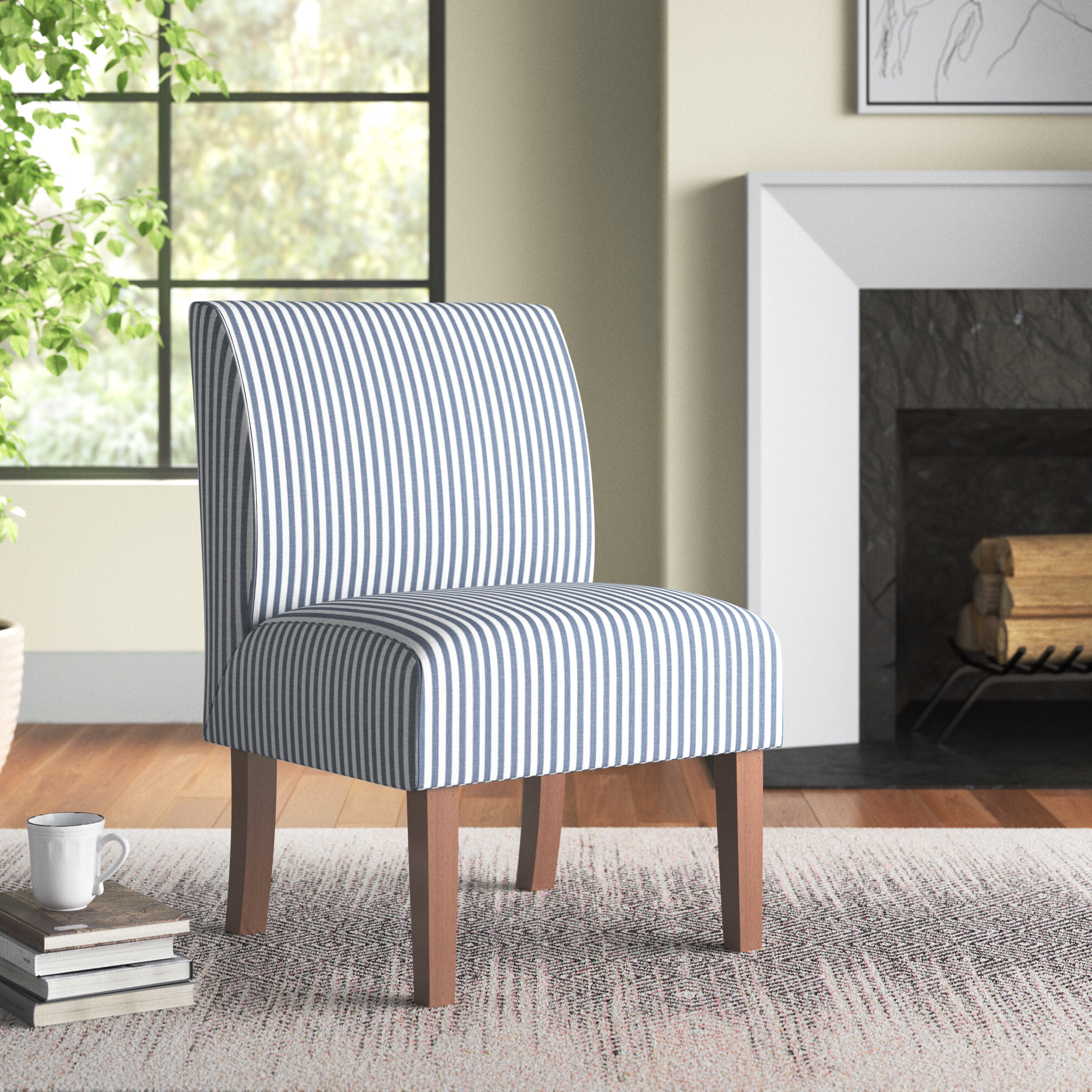 Blue Slipper Accent Chairs You'll Love In (View 3 of 20)
