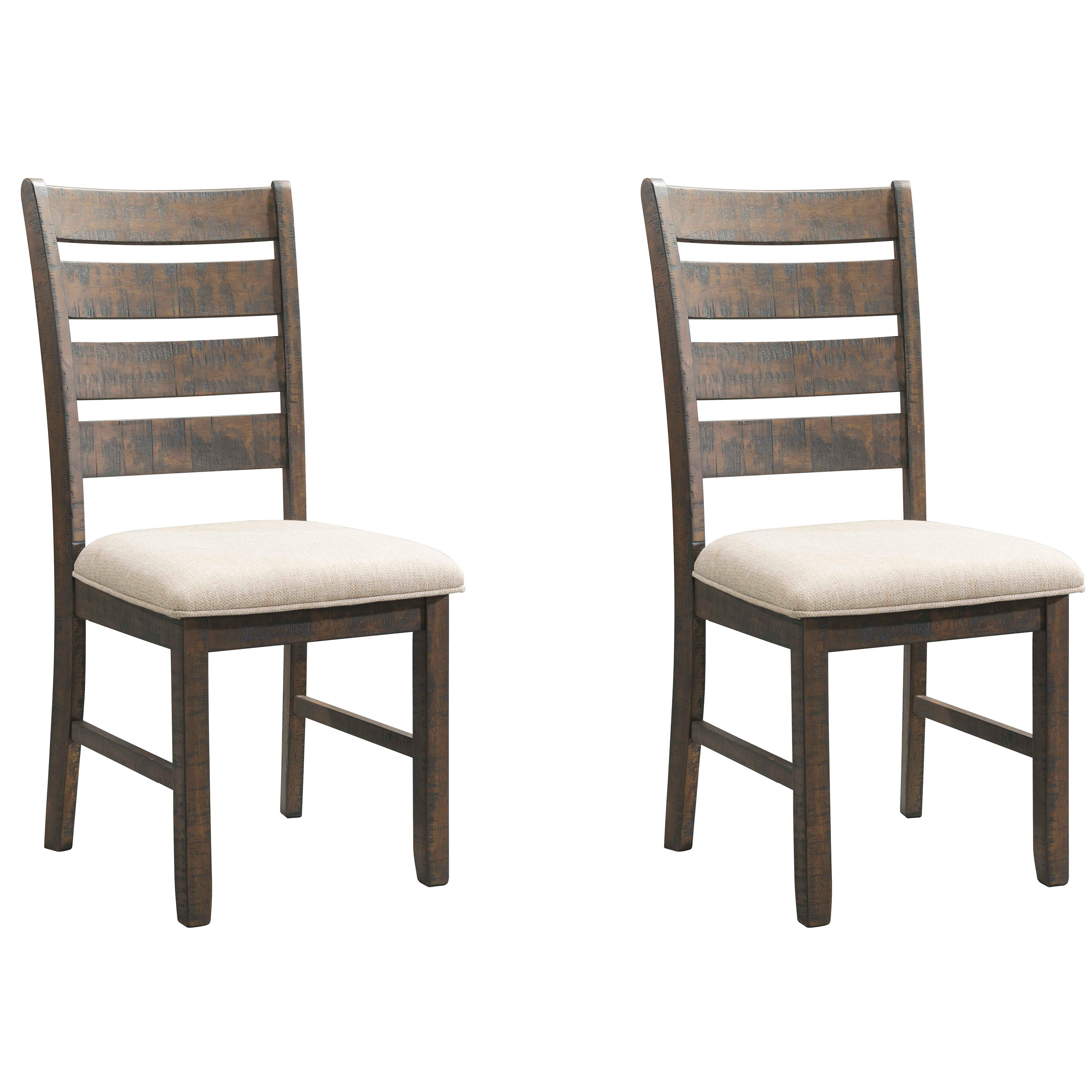 Bob Stripe Upholstered Dining Chairs (set Of 2) Within Recent Coastal Dining Chairs (View 9 of 20)