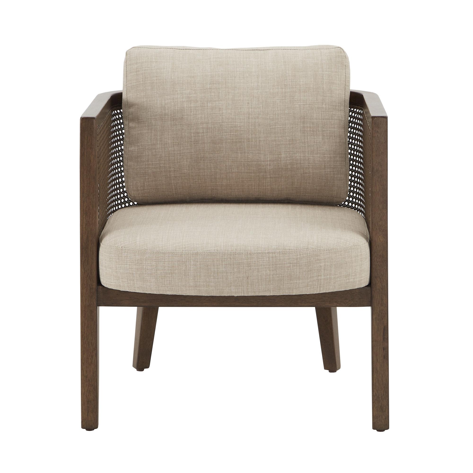 "Boisvert 27"" W Polyester Blend Armchair In Newest Polyester Blend Armchairs (View 11 of 20)"