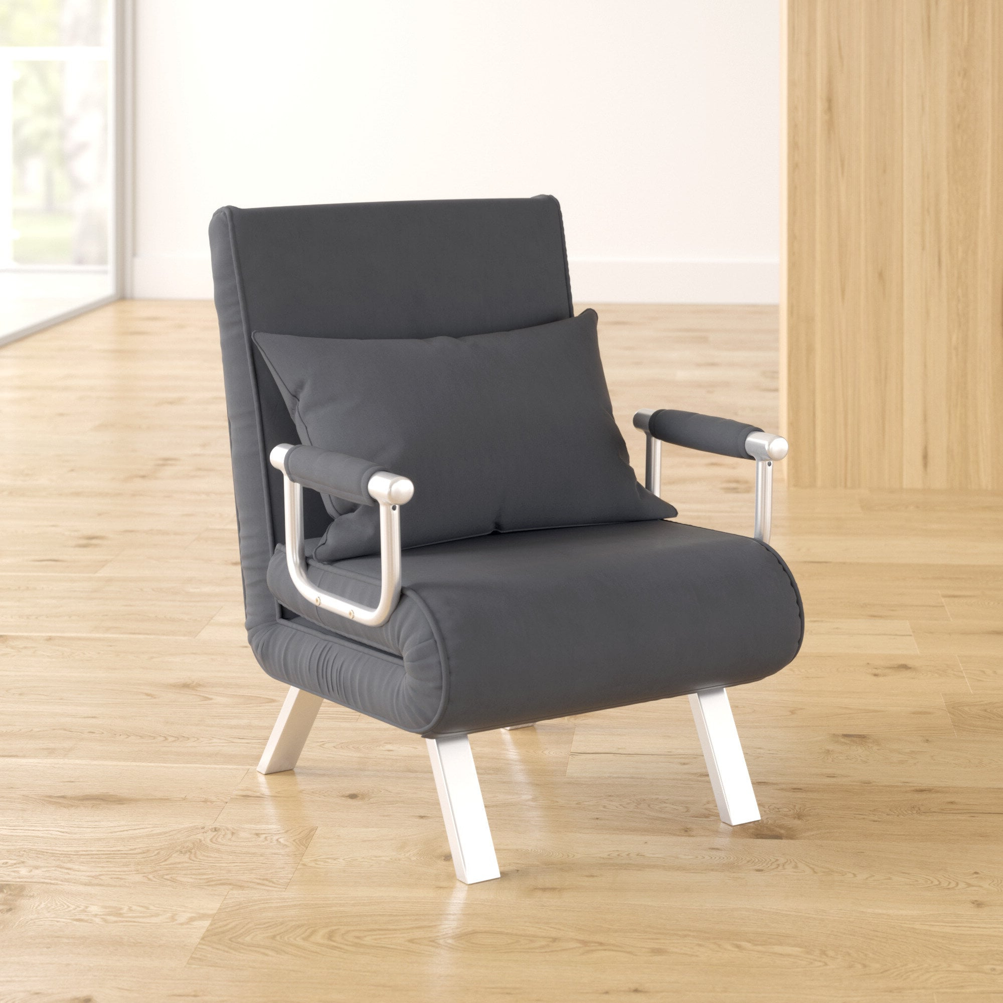 Bolen Convertible Chairs With Regard To Most Popular Space Saving Chairs That Turn Into Beds (View 11 of 20)