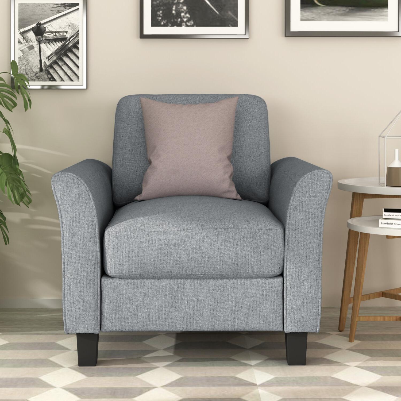 Borst Armchairs Within Trendy Aucuba Armchair (View 6 of 20)