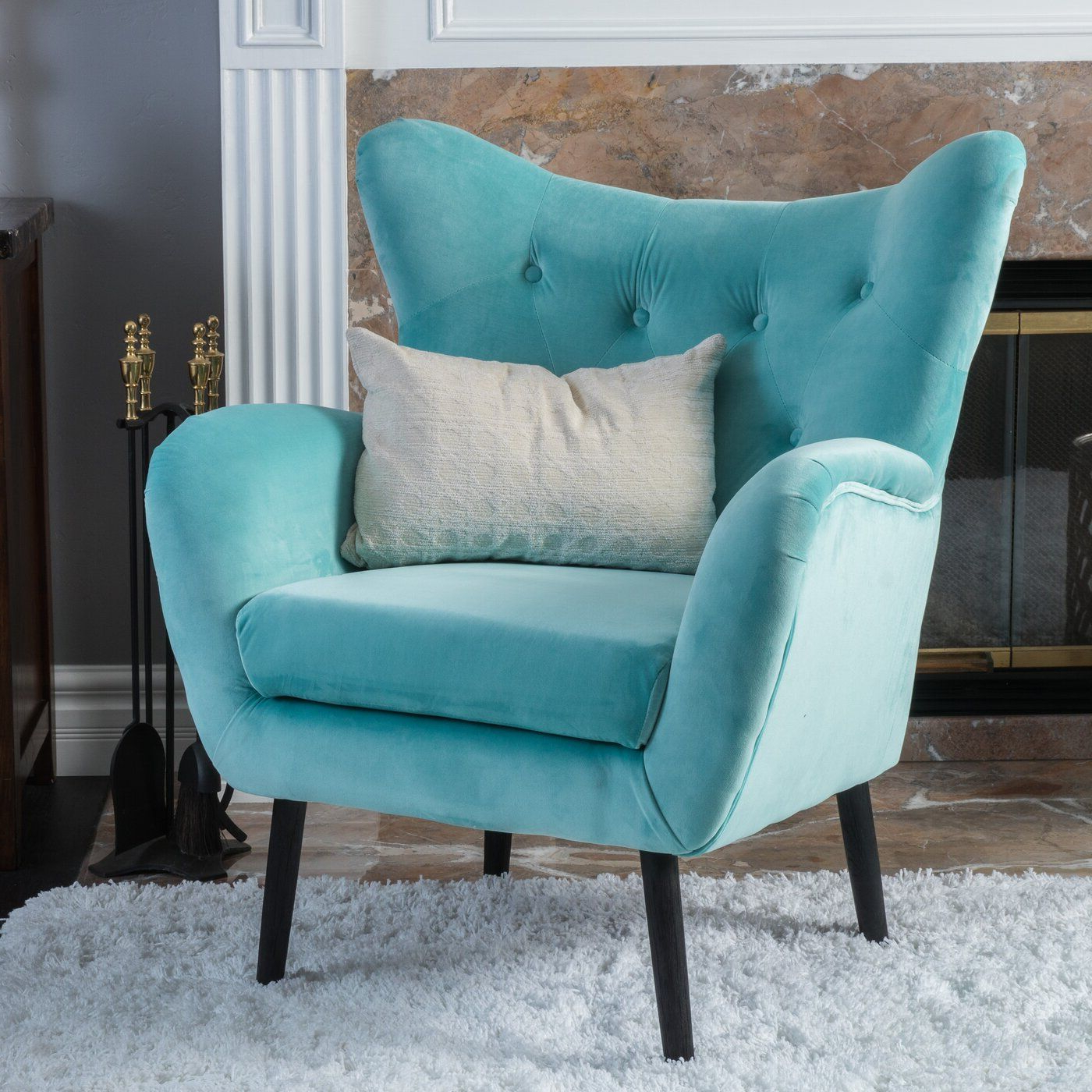 Bouck 21'' Wingback Chair (View 6 of 20)