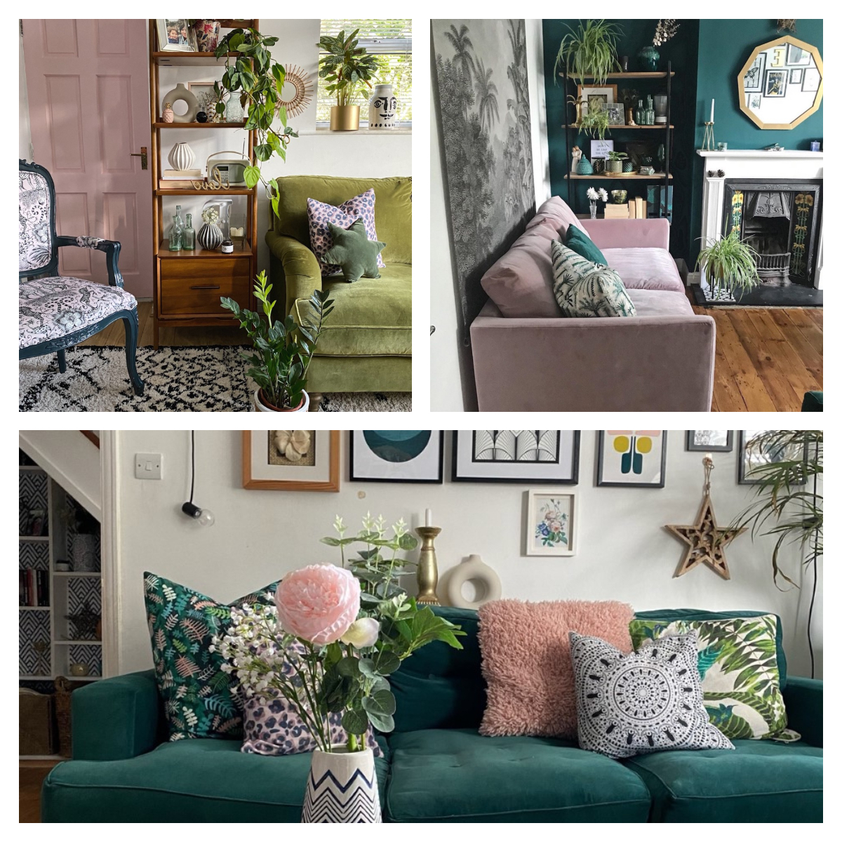 Boyden Armchairs With Regard To Most Up To Date Boho Glam Interiors: Styledmelanie Boyden – Inspiration (View 7 of 20)