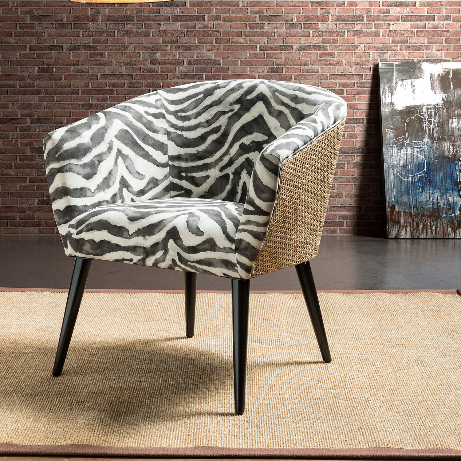Briseno Barrel Chairs In Best And Newest Vivere Barrel Chair (View 3 of 20)